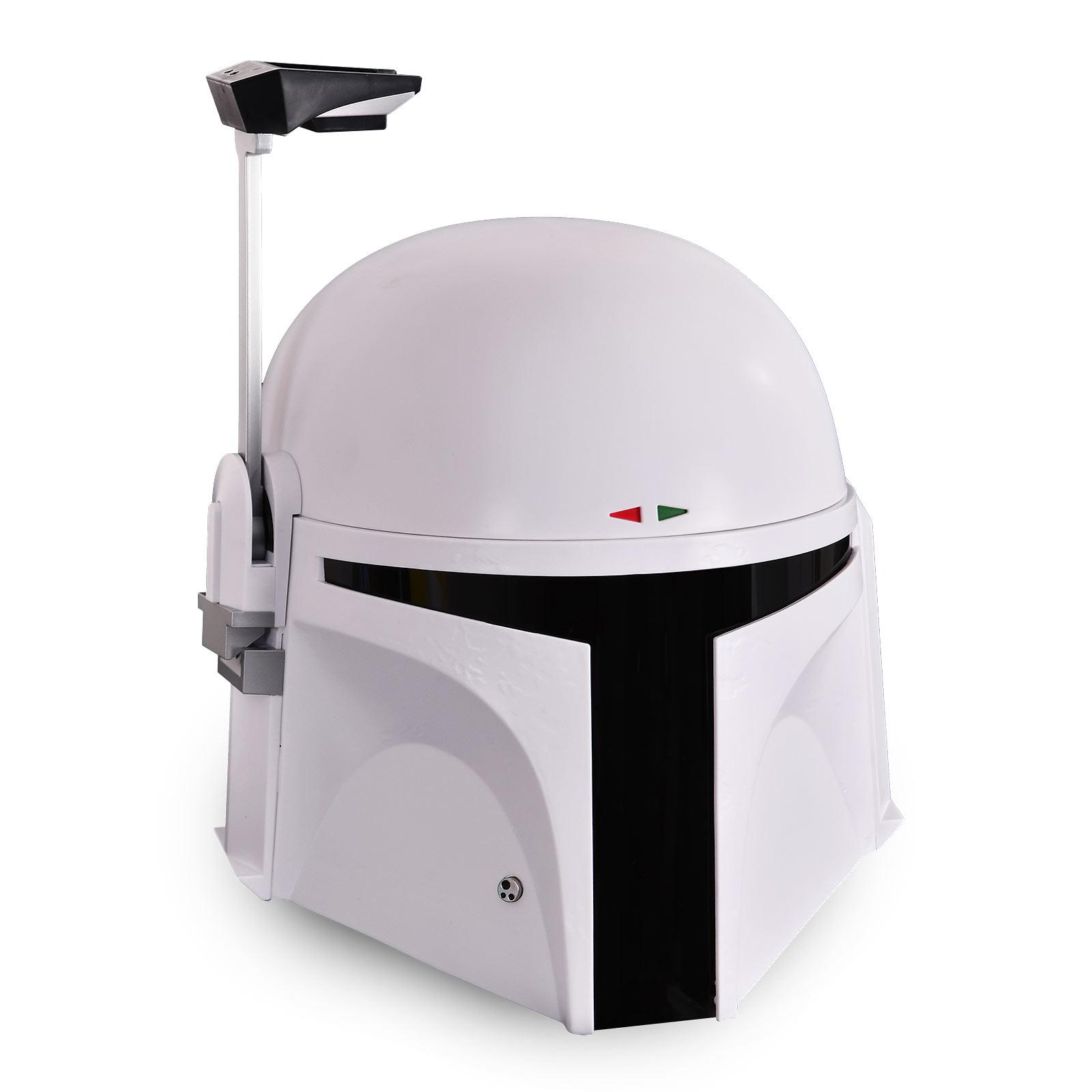 Star Wars - Boba Fett Prototyp Helm Premium Replik mit Lichteffekten