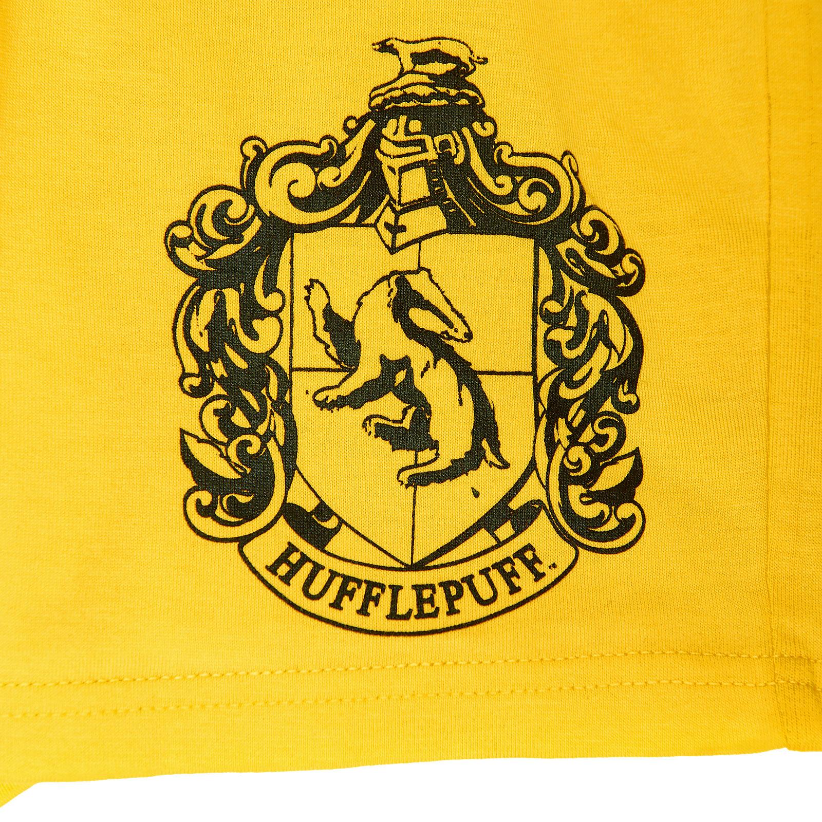 Harry Potter - Hufflepuff Pyjama kurz Damen