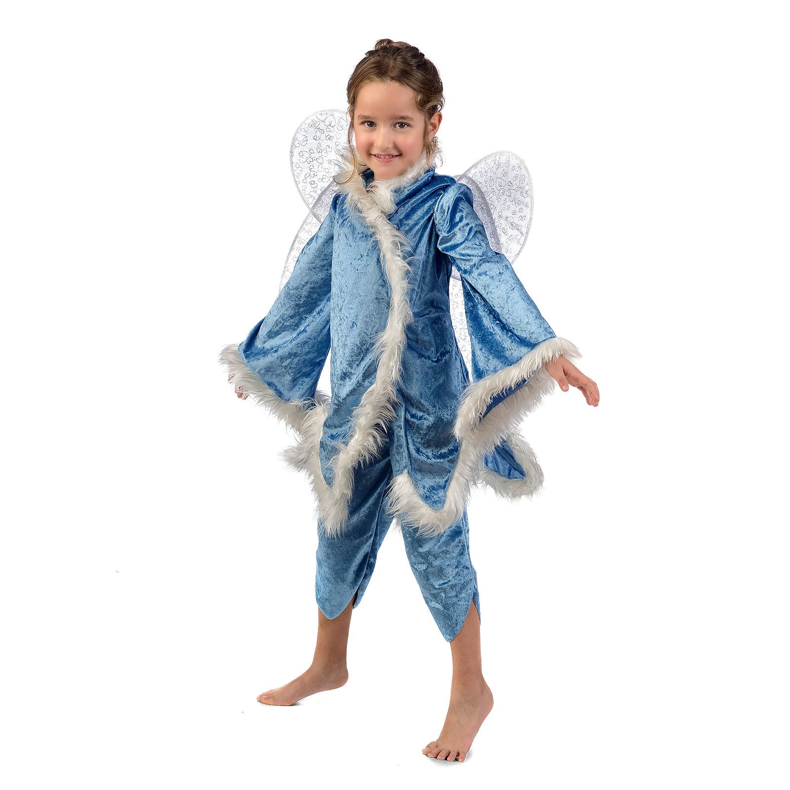 Blaue Fee Glöckchen - Kostüm Kinder
