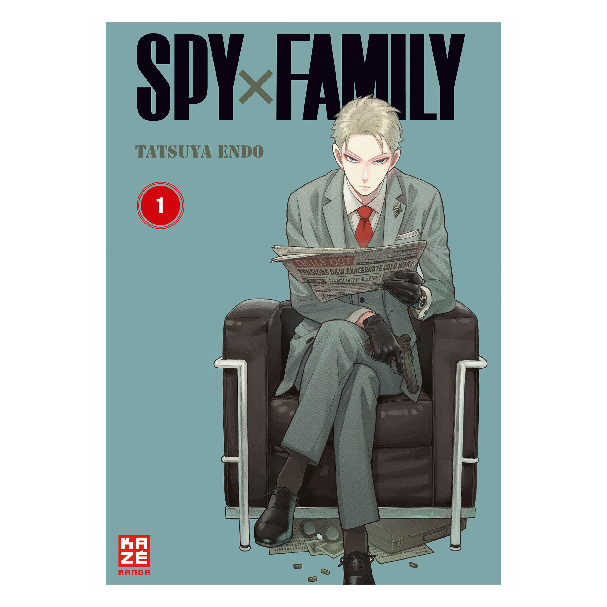 Spy x Family - Agent 00-Papa Band 1 Taschenbuch