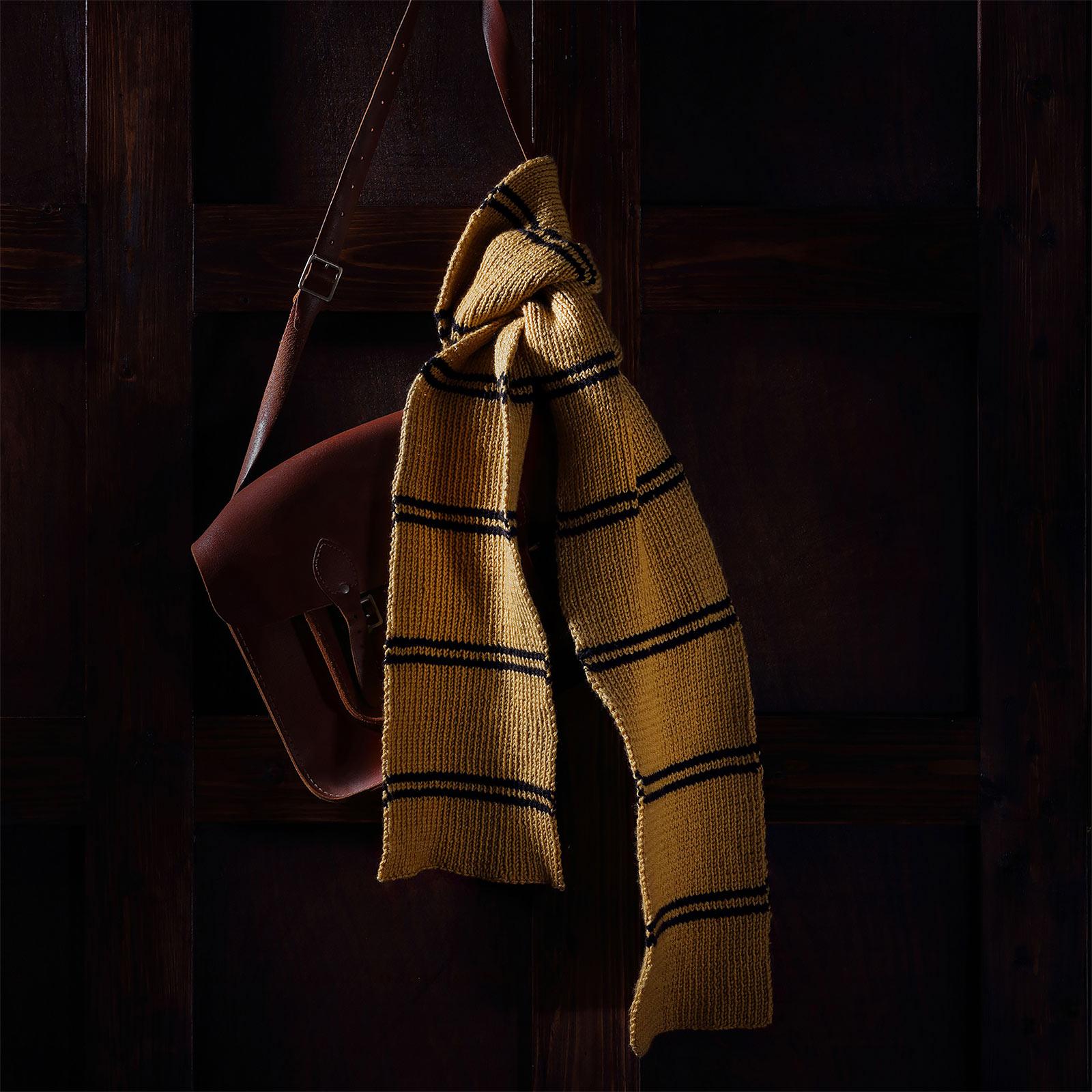 Harry Potter - Hufflepuff Schal Strick-Set