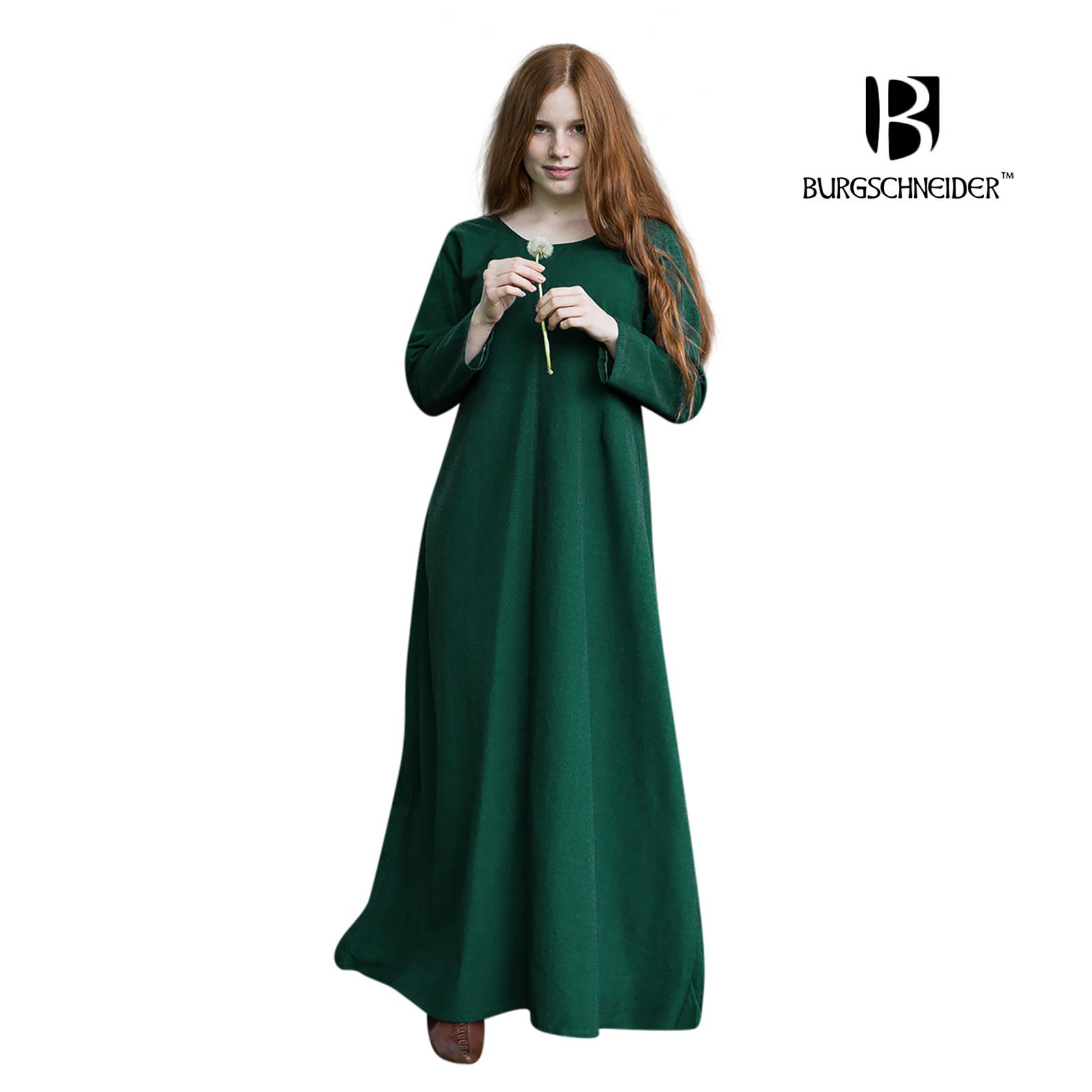 Mittelalter Unterkleid Freya grün