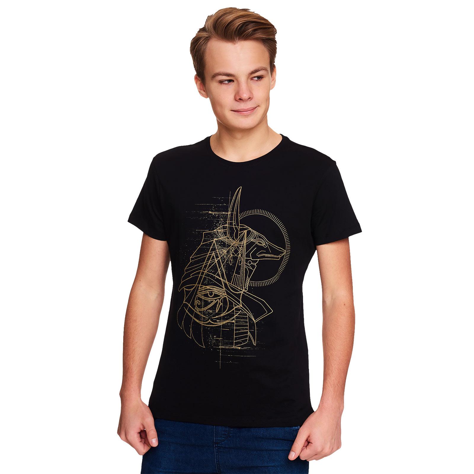 Assassins Creed - Anubis T-Shirt schwarz