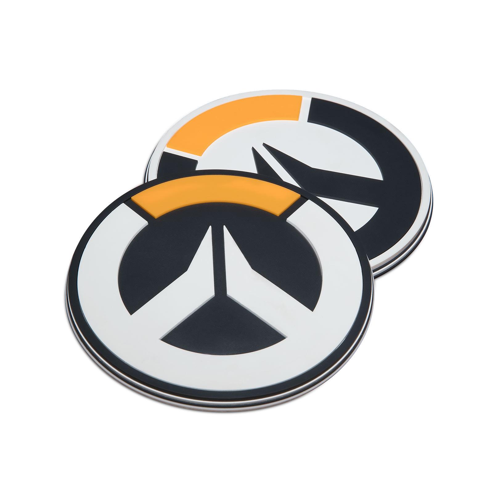 Overwatch - Logo Untersetzer 4er Set