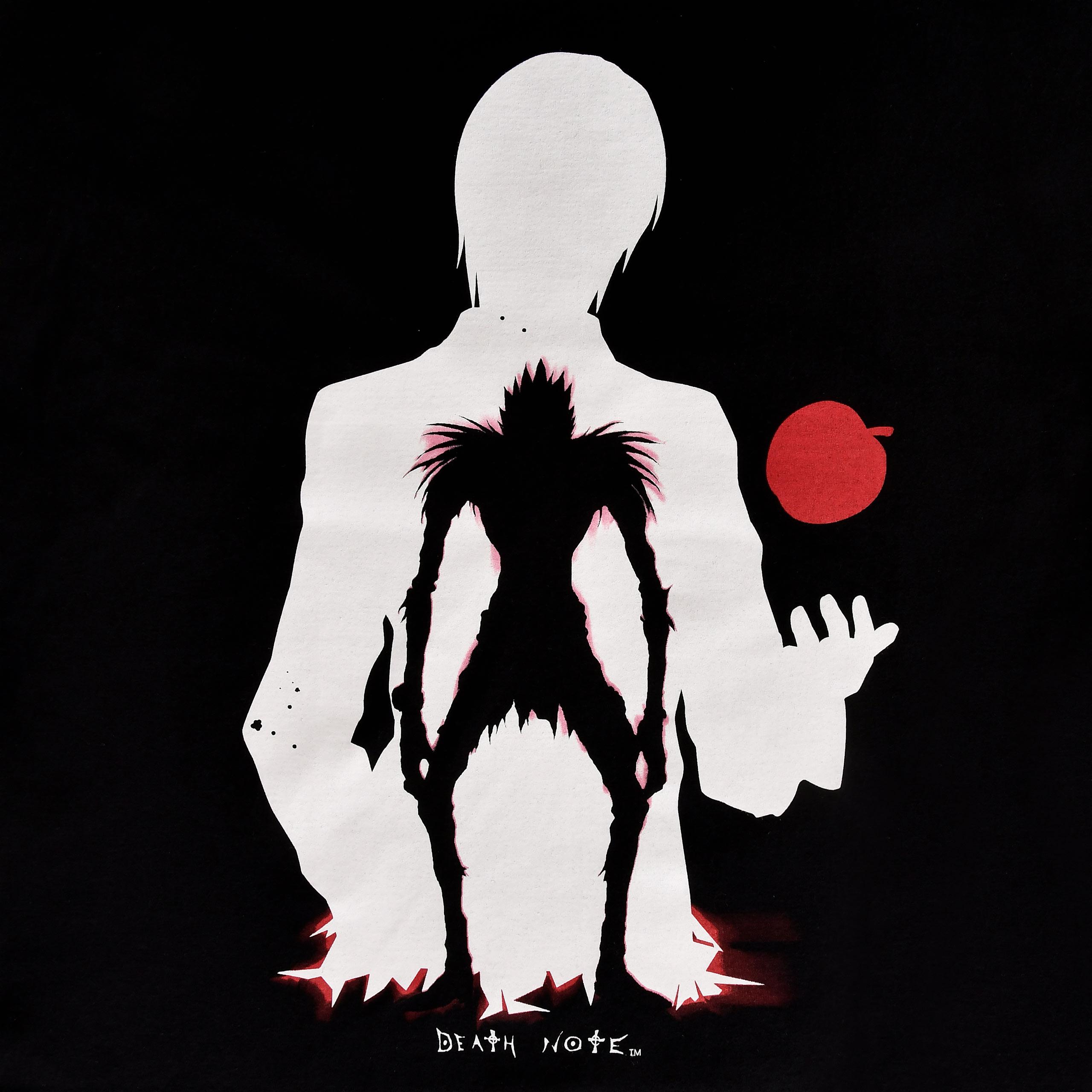 Death Note - Ryuk & Light T-Shirt schwarz