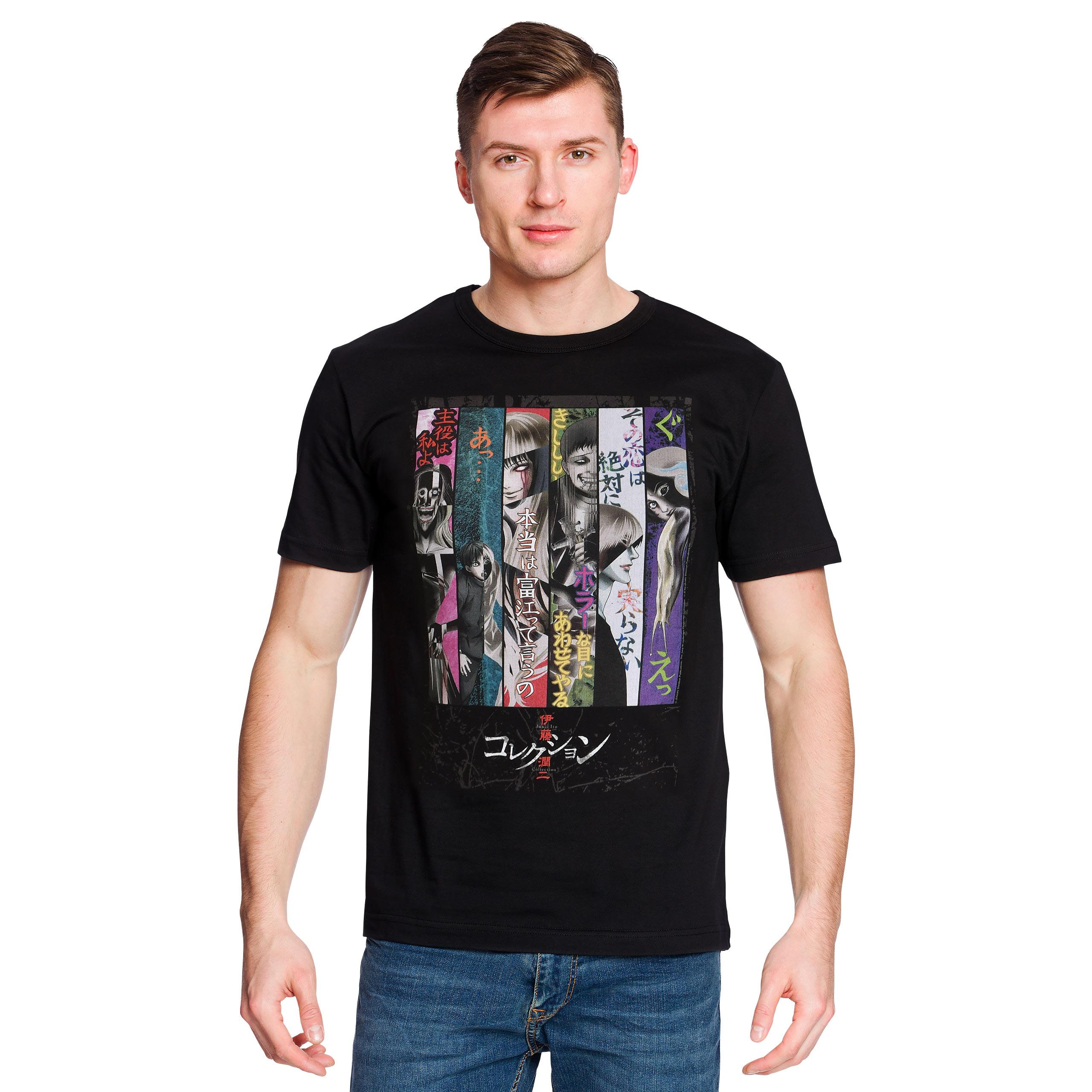 Junji Ito - Key Art T-Shirt schwarz
