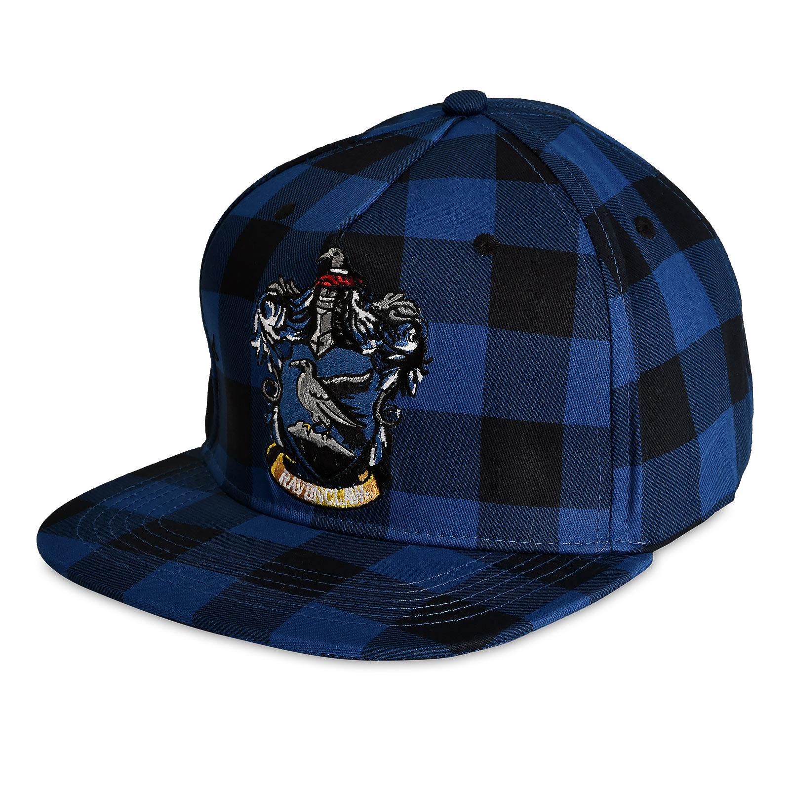 Harry Potter - Ravenclaw Wappen Karo Snapback Cap