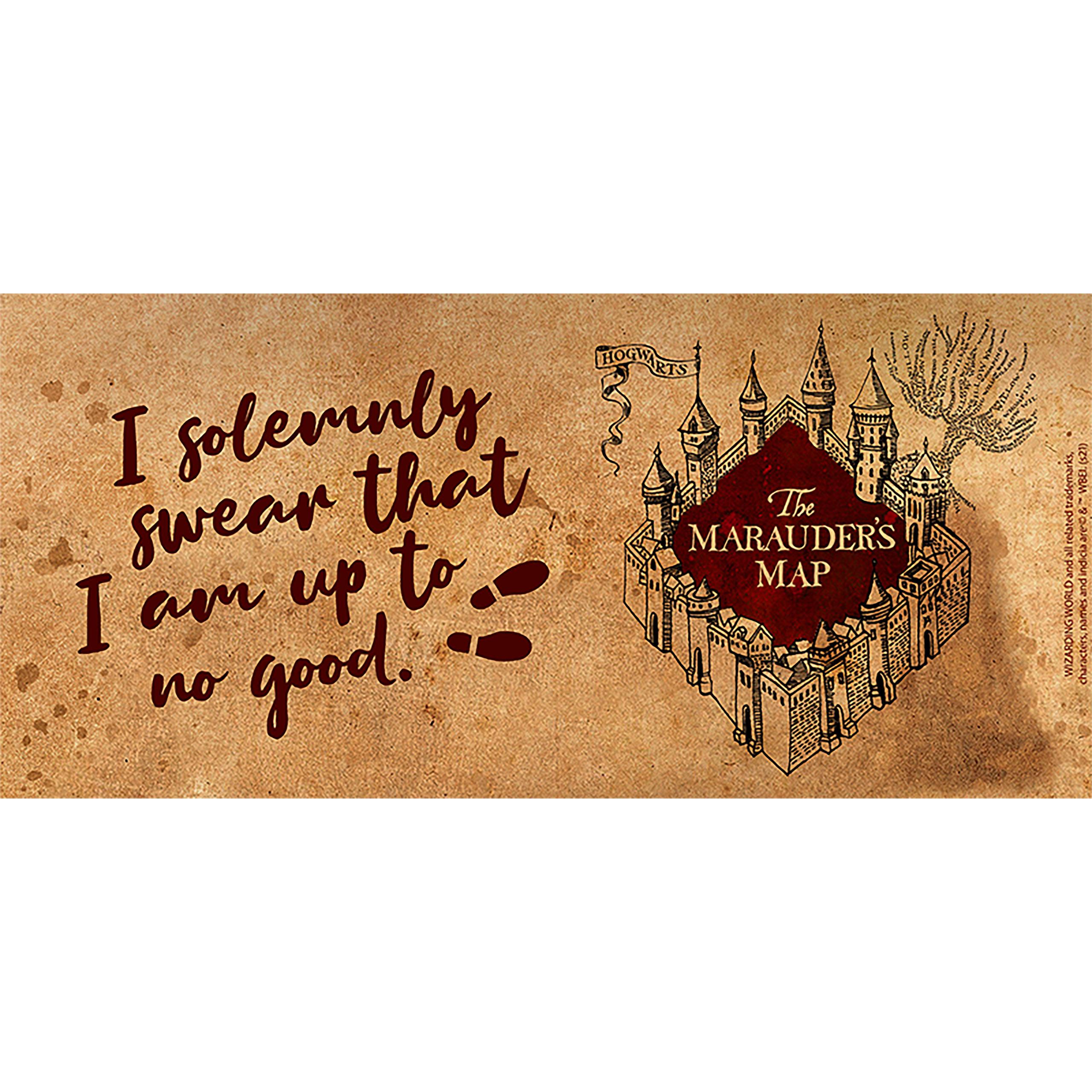 Harry Potter - Karte des Rumtreibers Tasse
