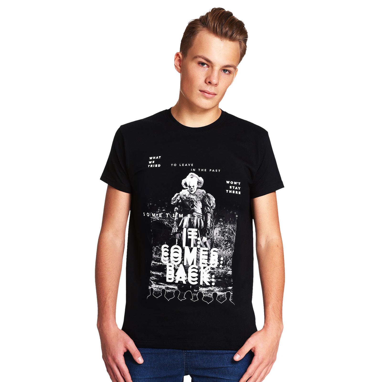 Stephen Kings ES - IT Comes Back T-Shirt schwarz
