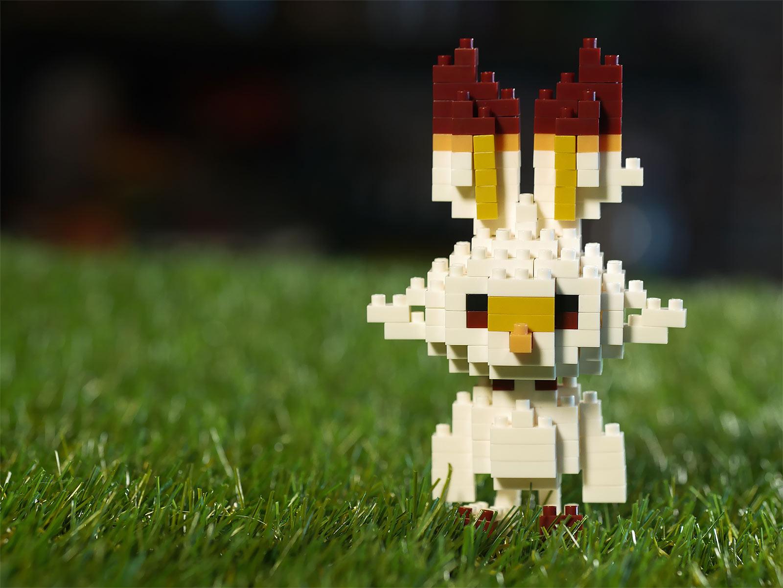 Pokemon - Hopplo nanoblock Mini Baustein Figur