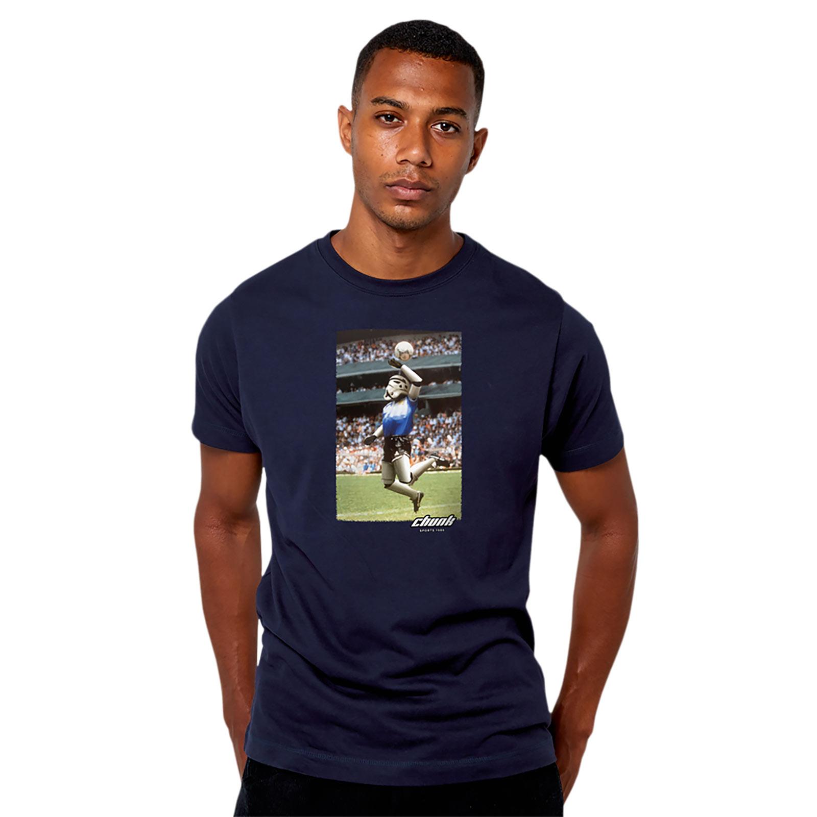 Hand of the Death T-Shirt für Star Wars Fans blau