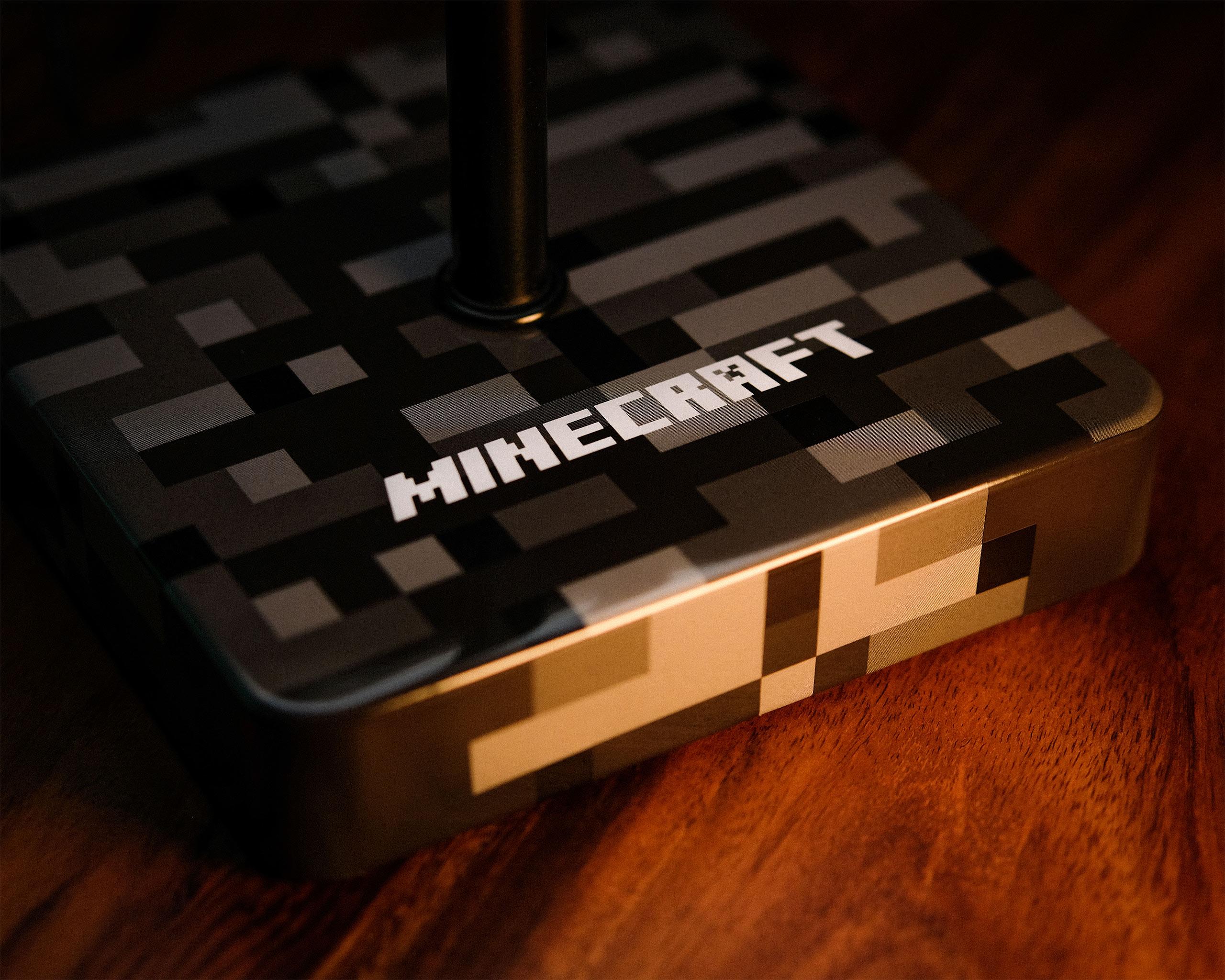 Minecraft - Redstone Block Tischlampe