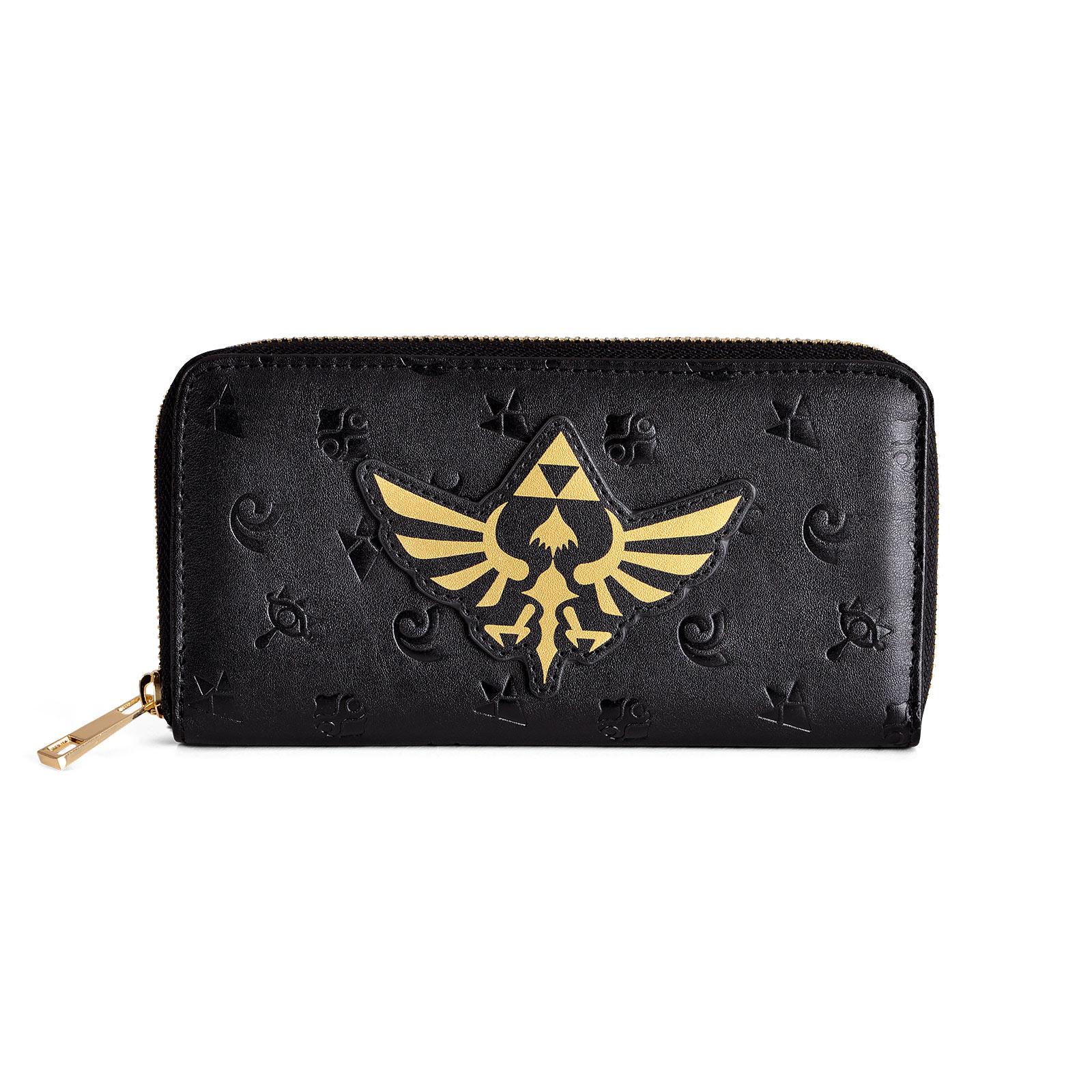 Zelda - Hyrule Symbols Geldbörse schwarz