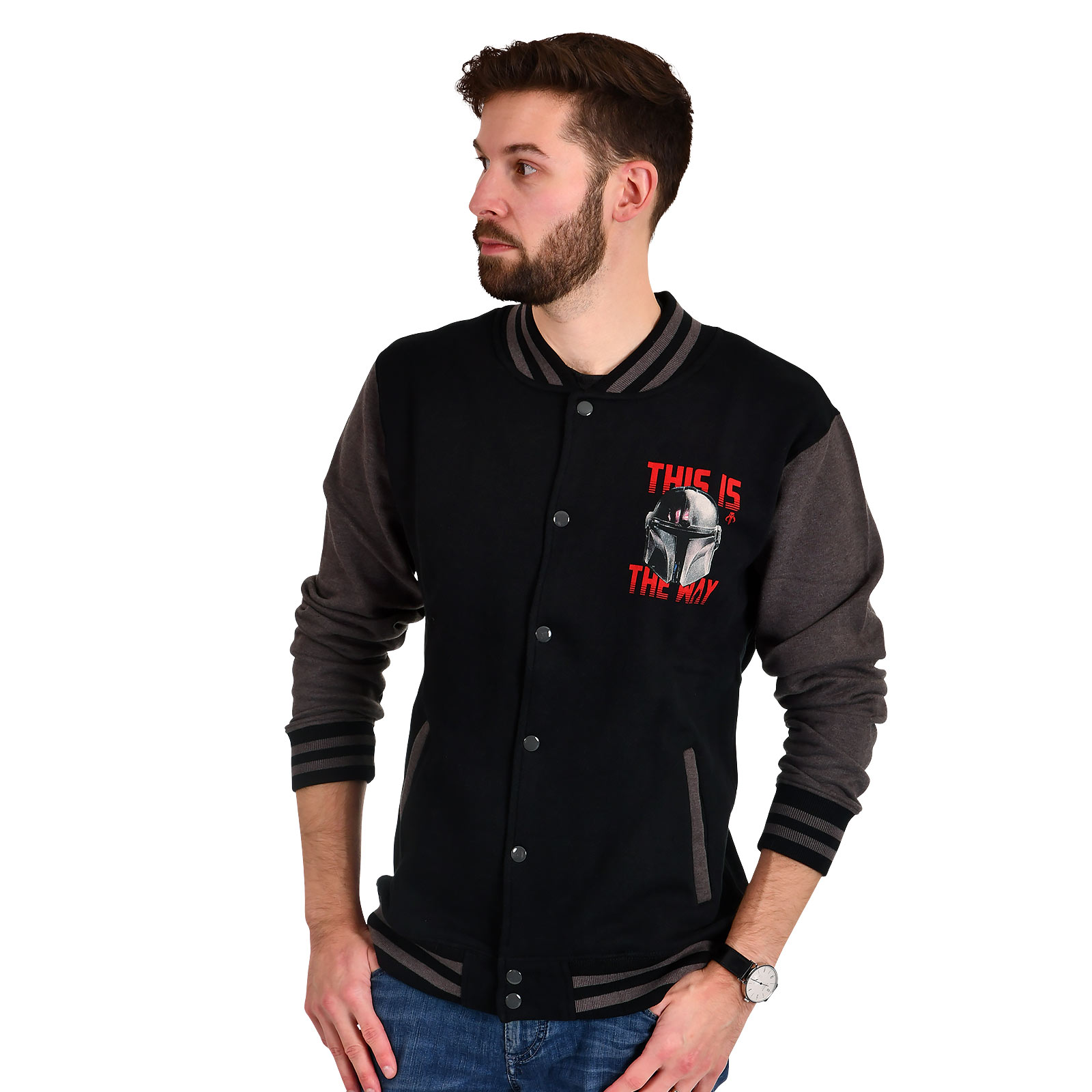The Mandalorian This Is the Way College Jacke - Star Wars