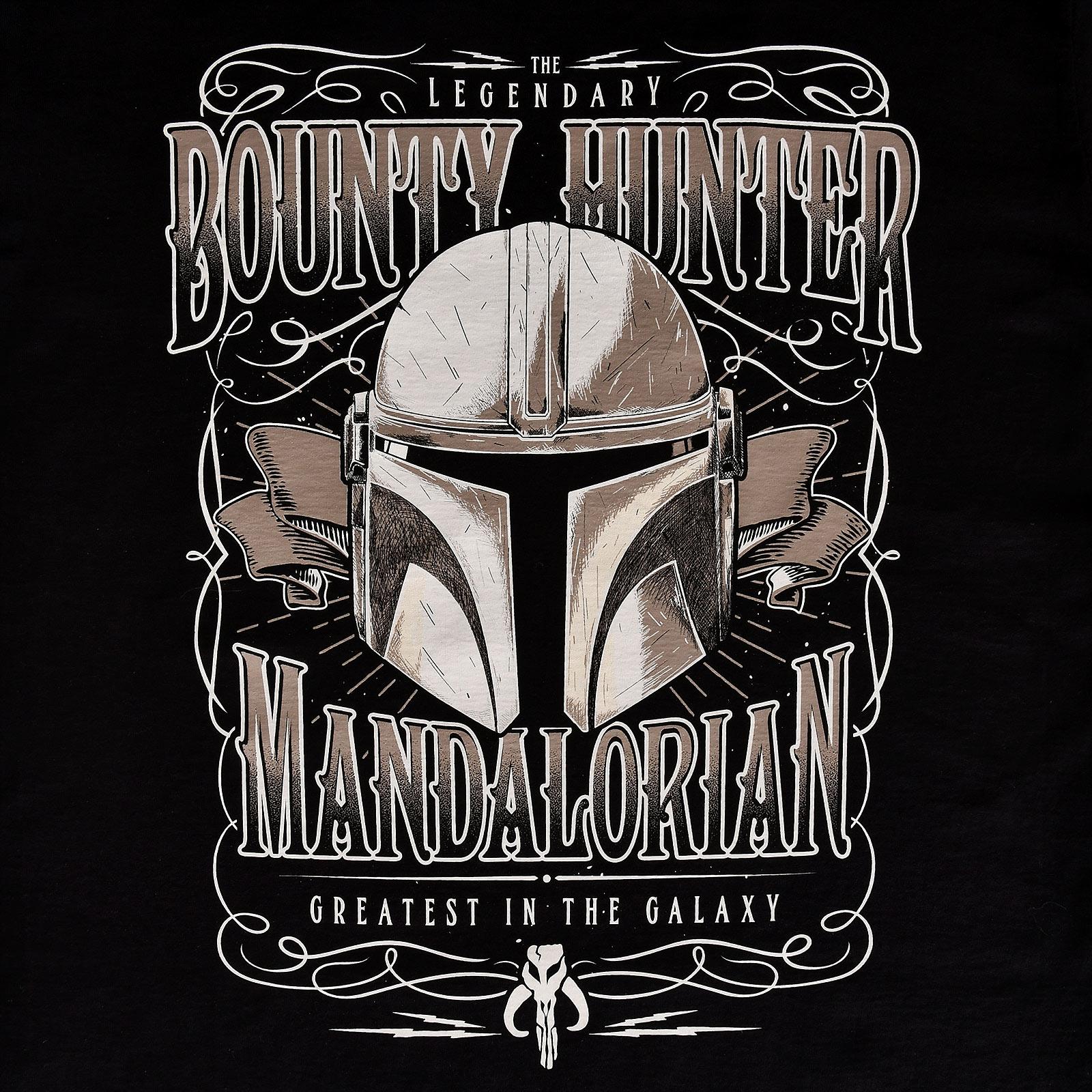 Greatest in the Galaxy T-Shirt schwarz - Star Wars The Mandalorian