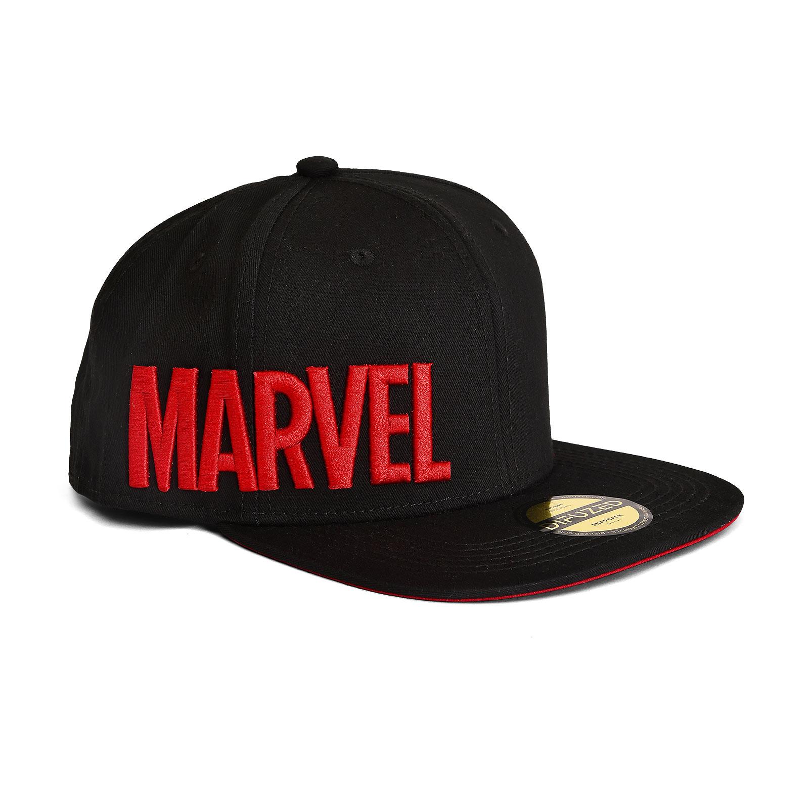 Marvel - Hero Icons Snapback Cap schwarz