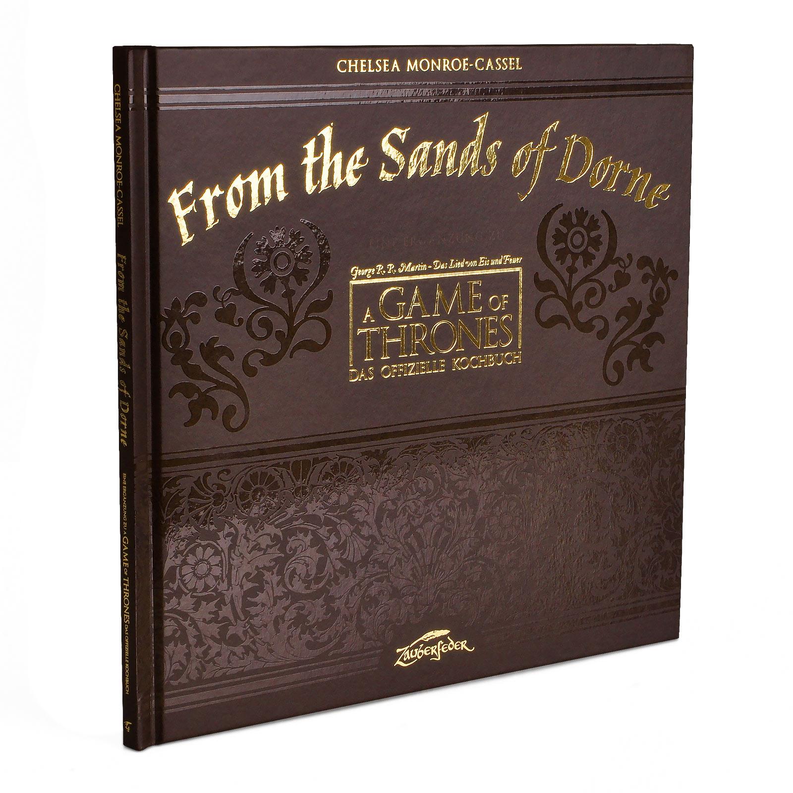 Game of Thrones - From the Sands of Dorne Kochbuch Ergänzung