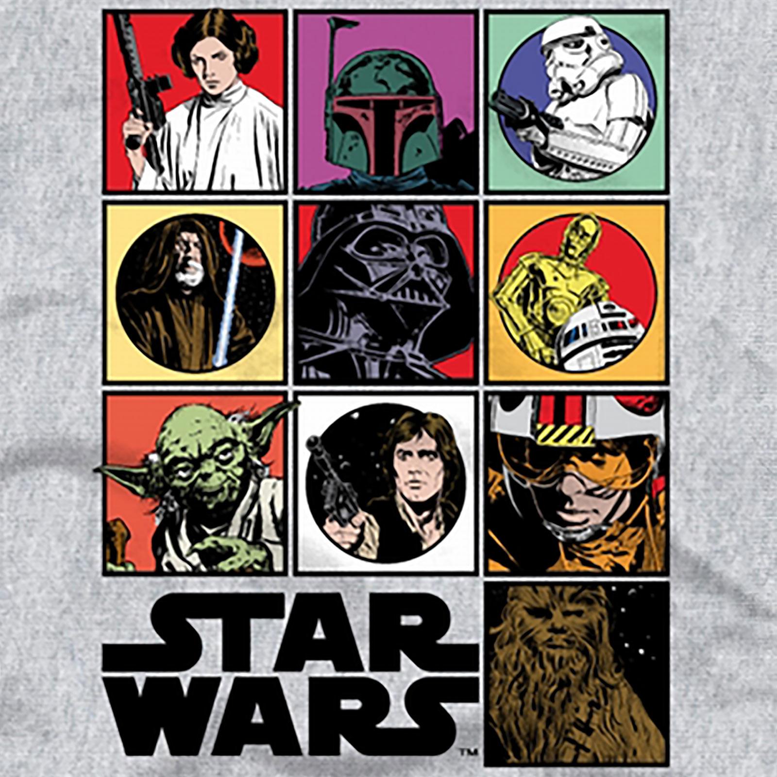 Star Wars - Characters T-Shirt grau