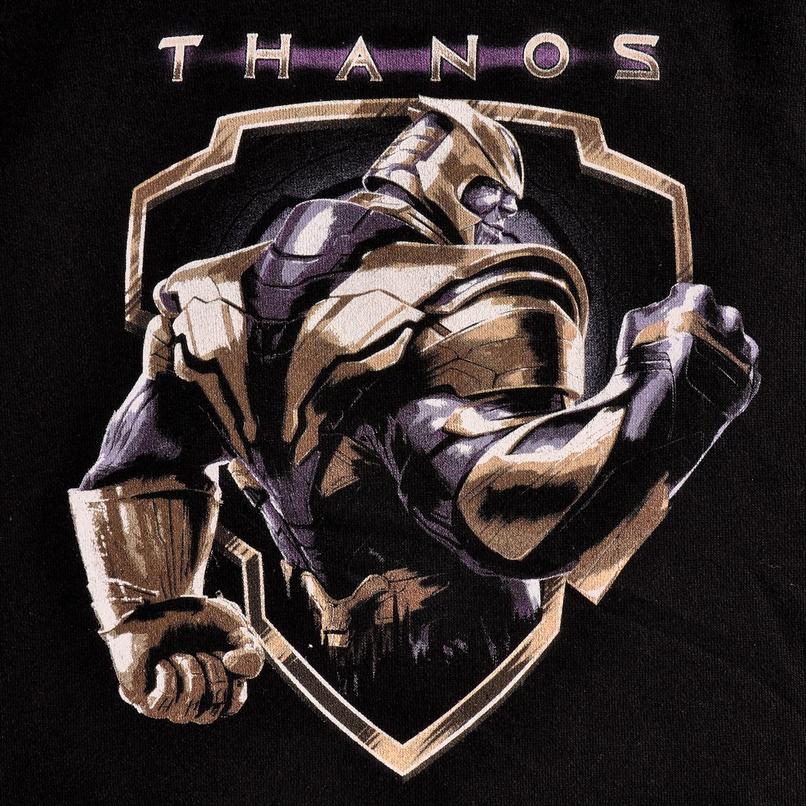 Avengers - Thanos Crest Hoodie schwarz