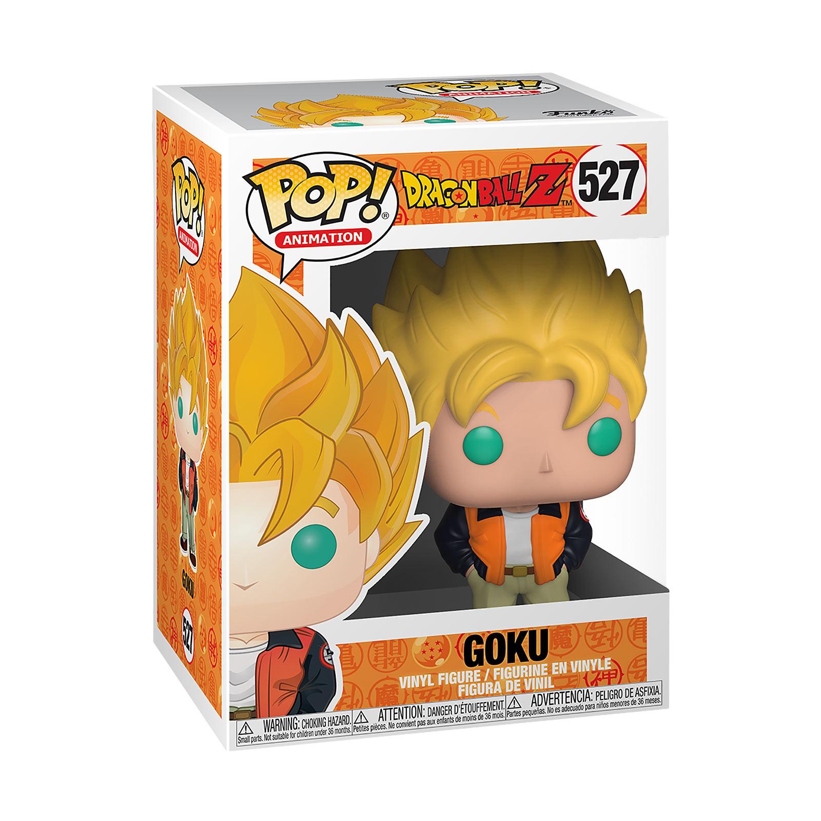 Dragon Ball - Super Saiyajin Goku Casual Funko Pop Figur