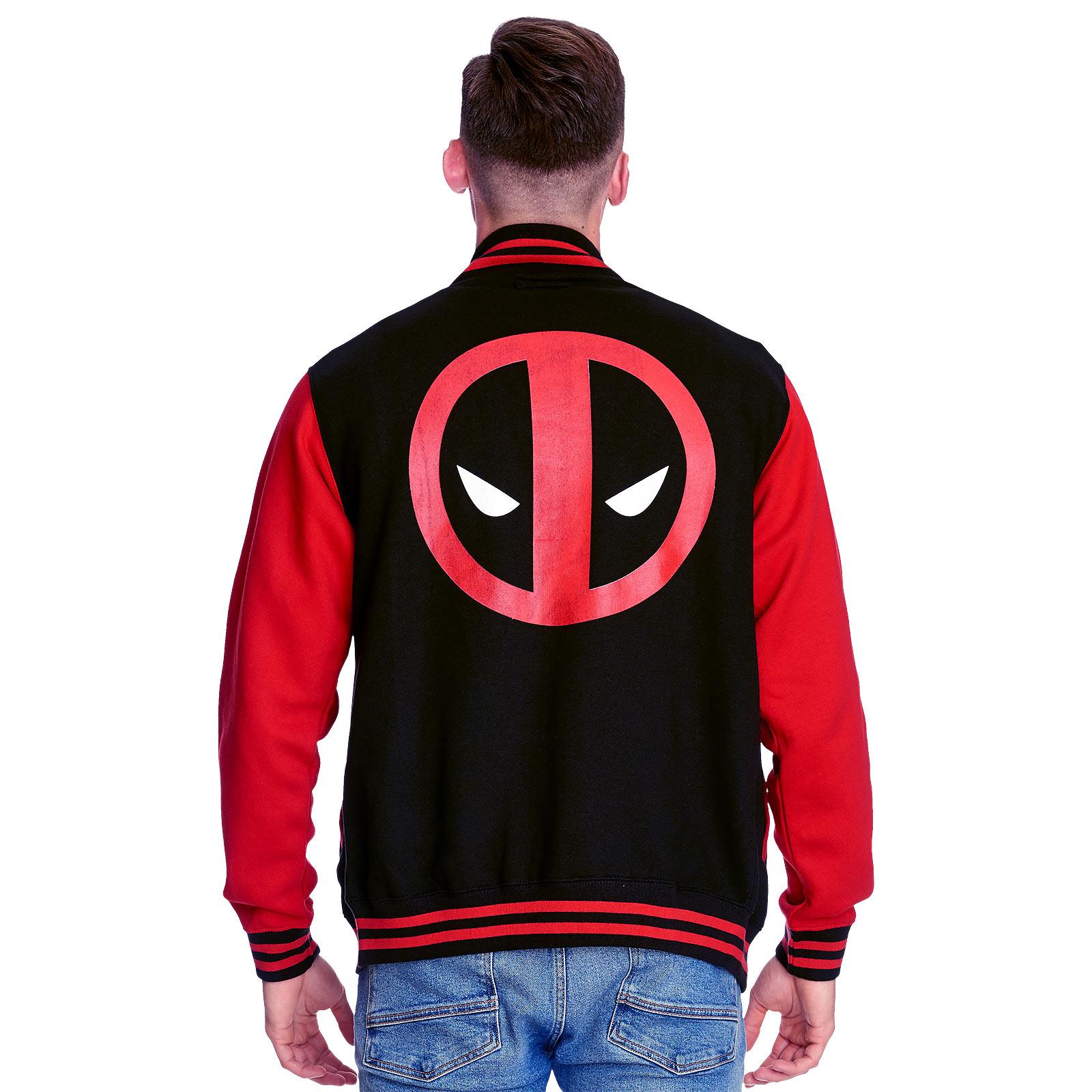 Deadpool - Logo College Jacke