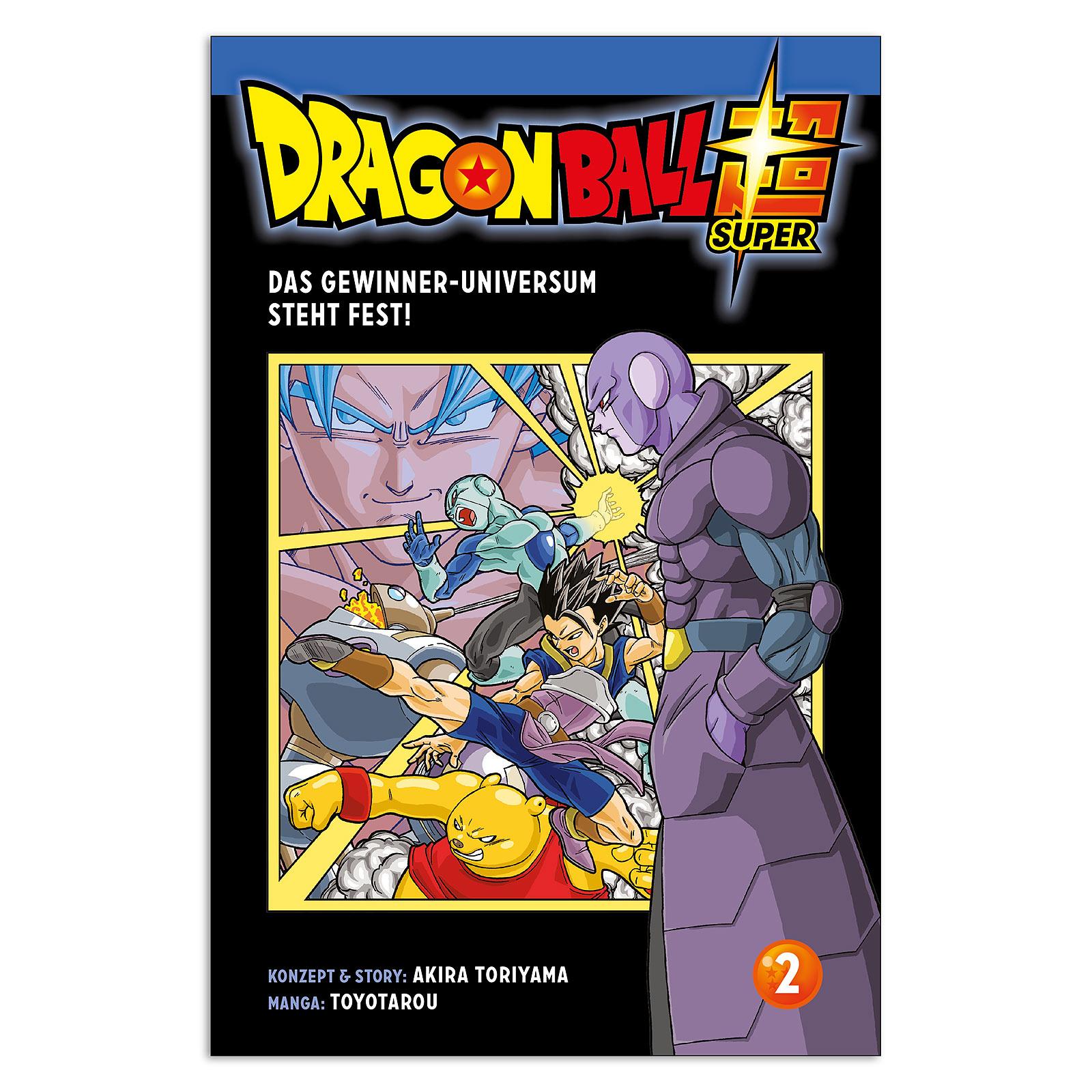 Dragon Ball Super - Das Gewinner-Universum steht fest! Band 2 Taschenbuch