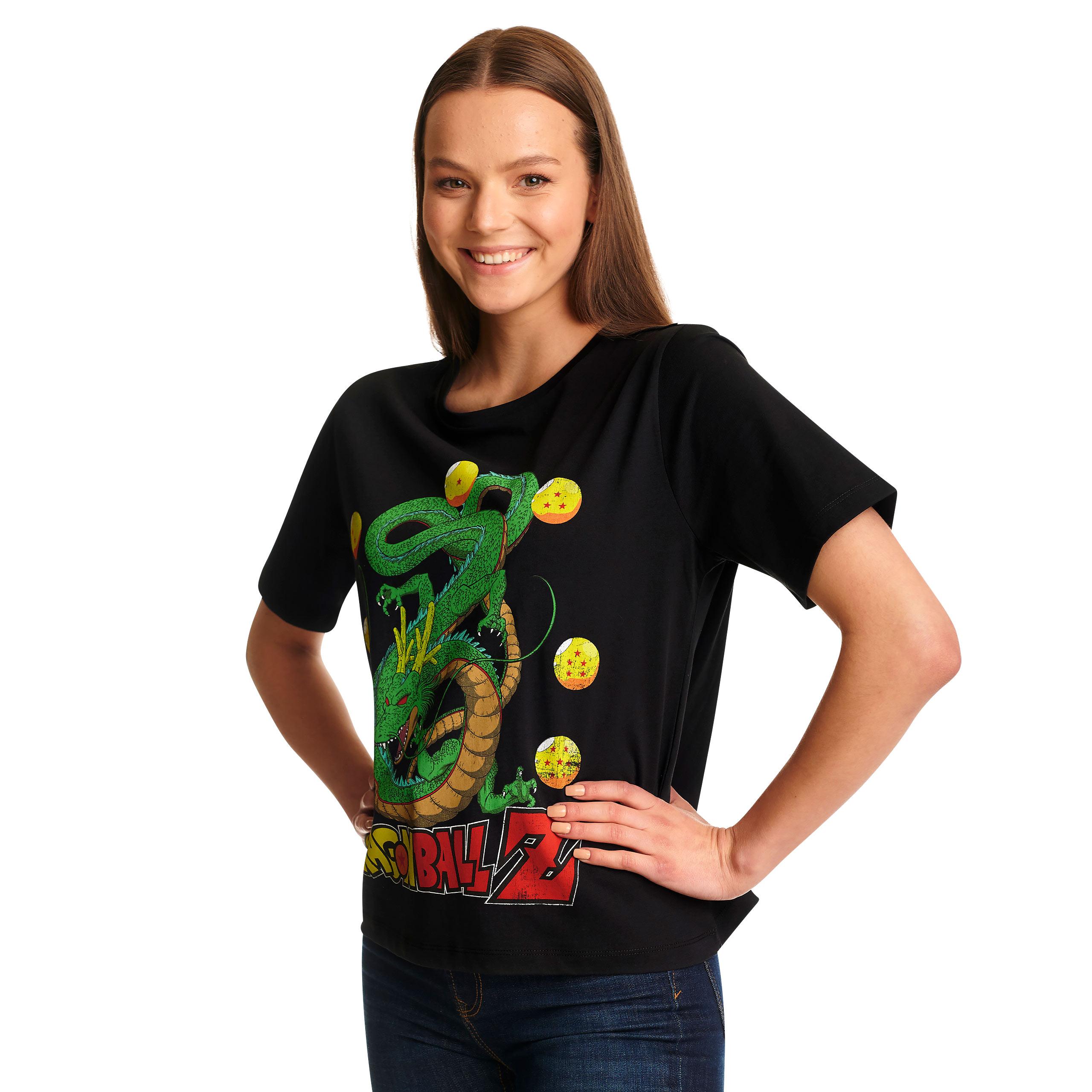 Dragon Ball Z - Shenlong T-Shirt Damen schwarz