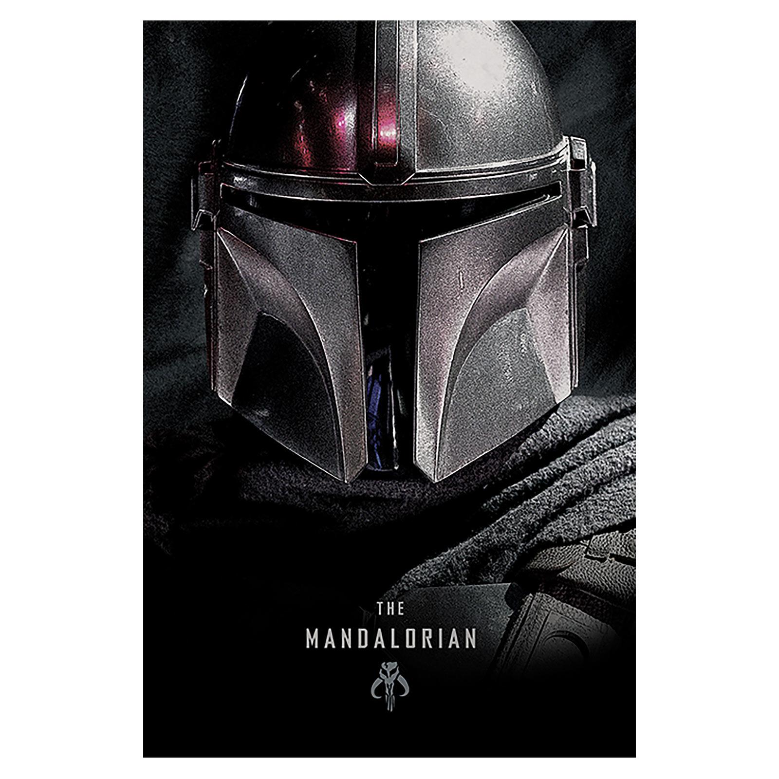 The Mandalorian Dark Maxi Poster - Star Wars