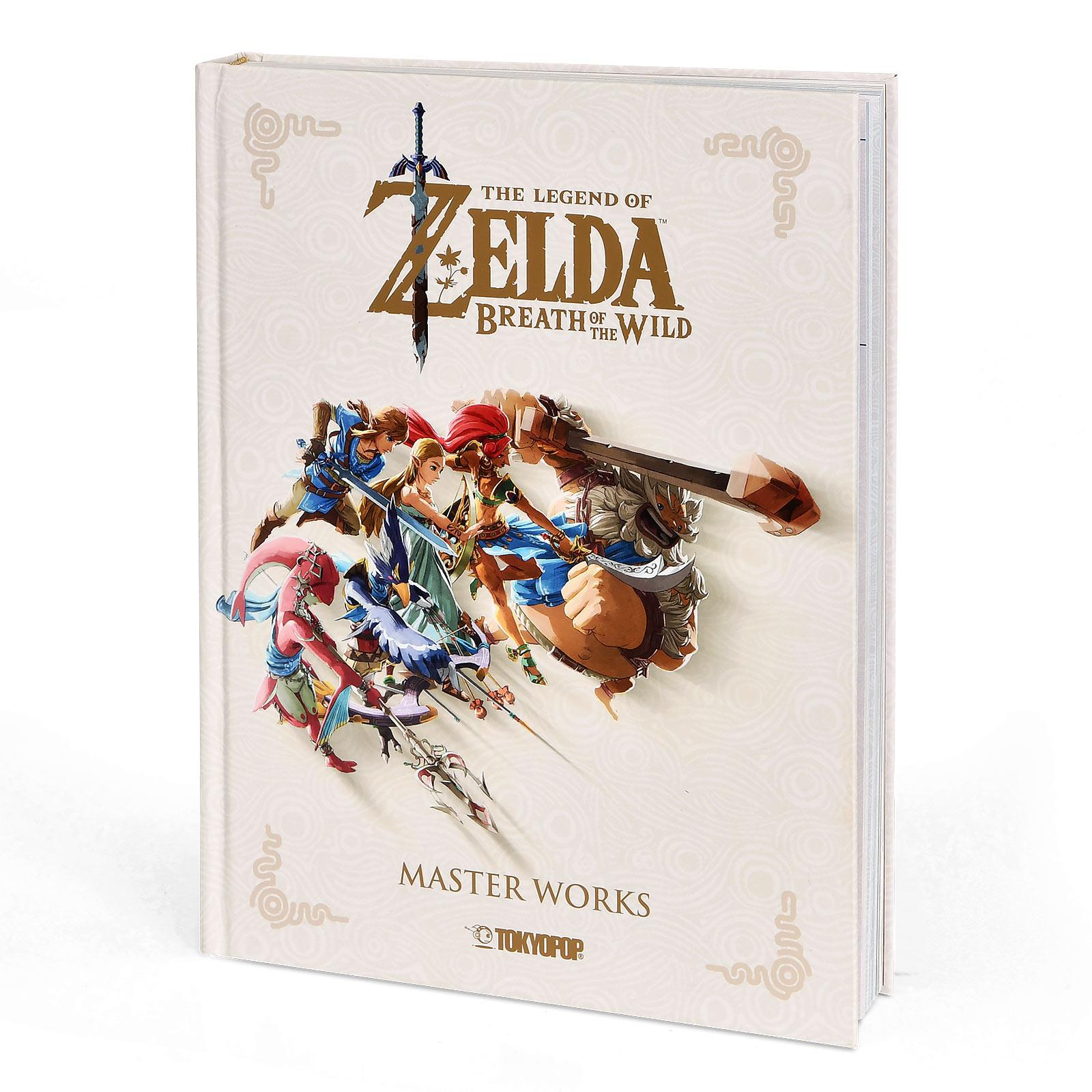 The Legend of Zelda - Breath of the Wild Artbook