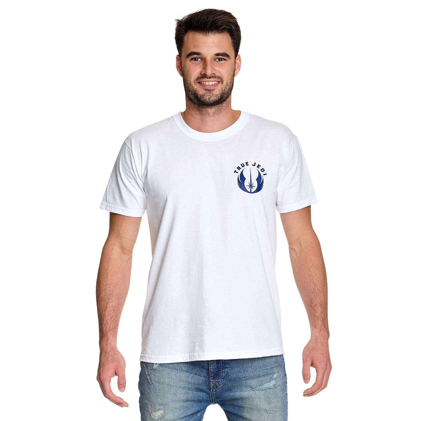 Star Wars - True Jedi T-Shirt weiß
