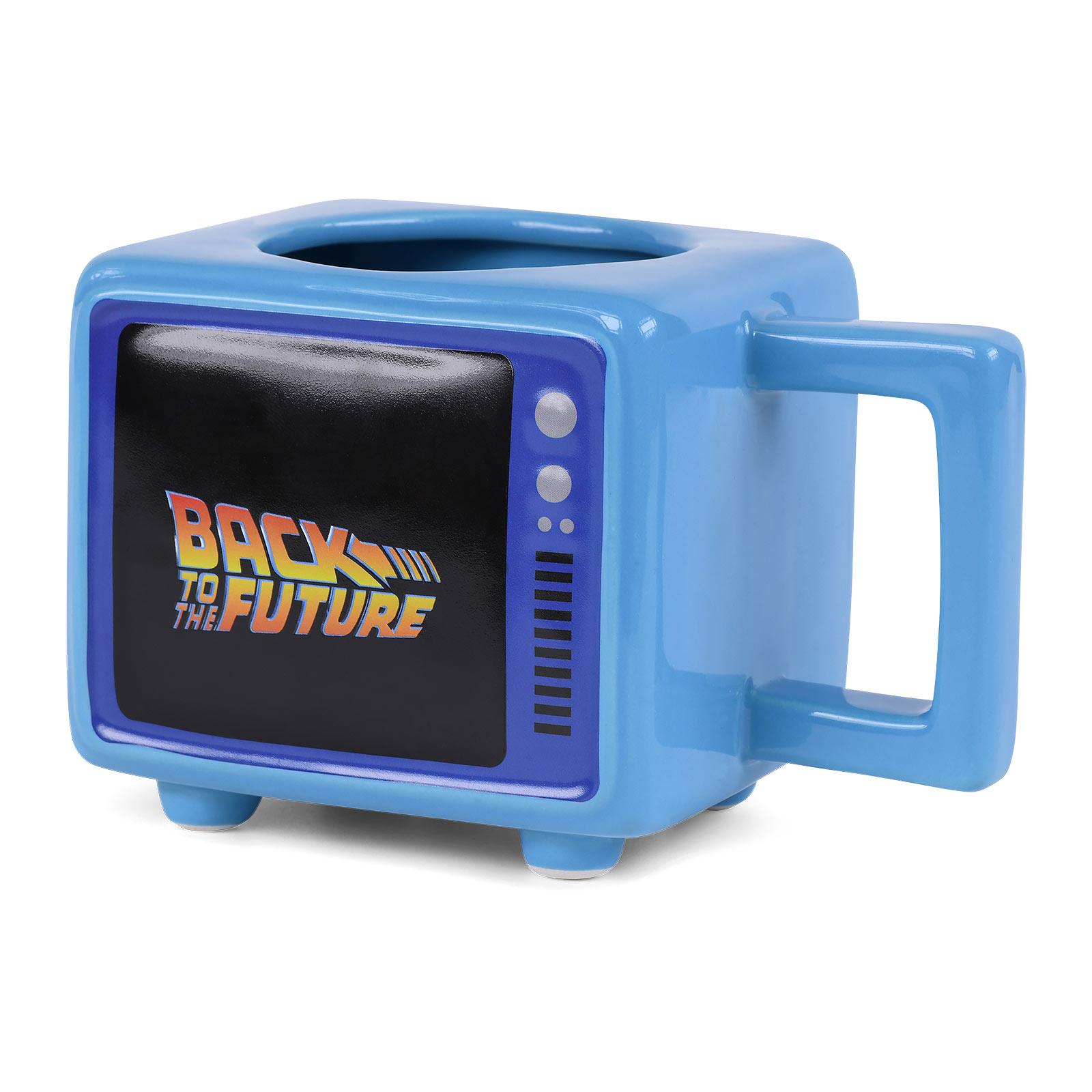 Zurück in die Zukunft - Fluxkompensator Thermoeffekt Tasse