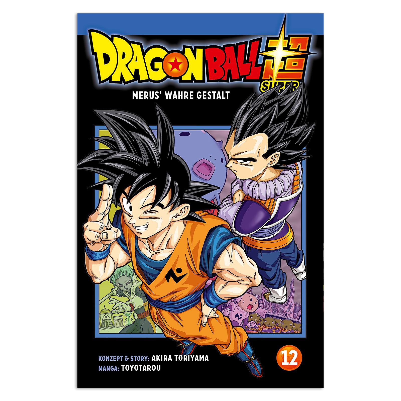 Dragon Ball Super - Merus wahre Gestalt Band 12 Taschenbuch