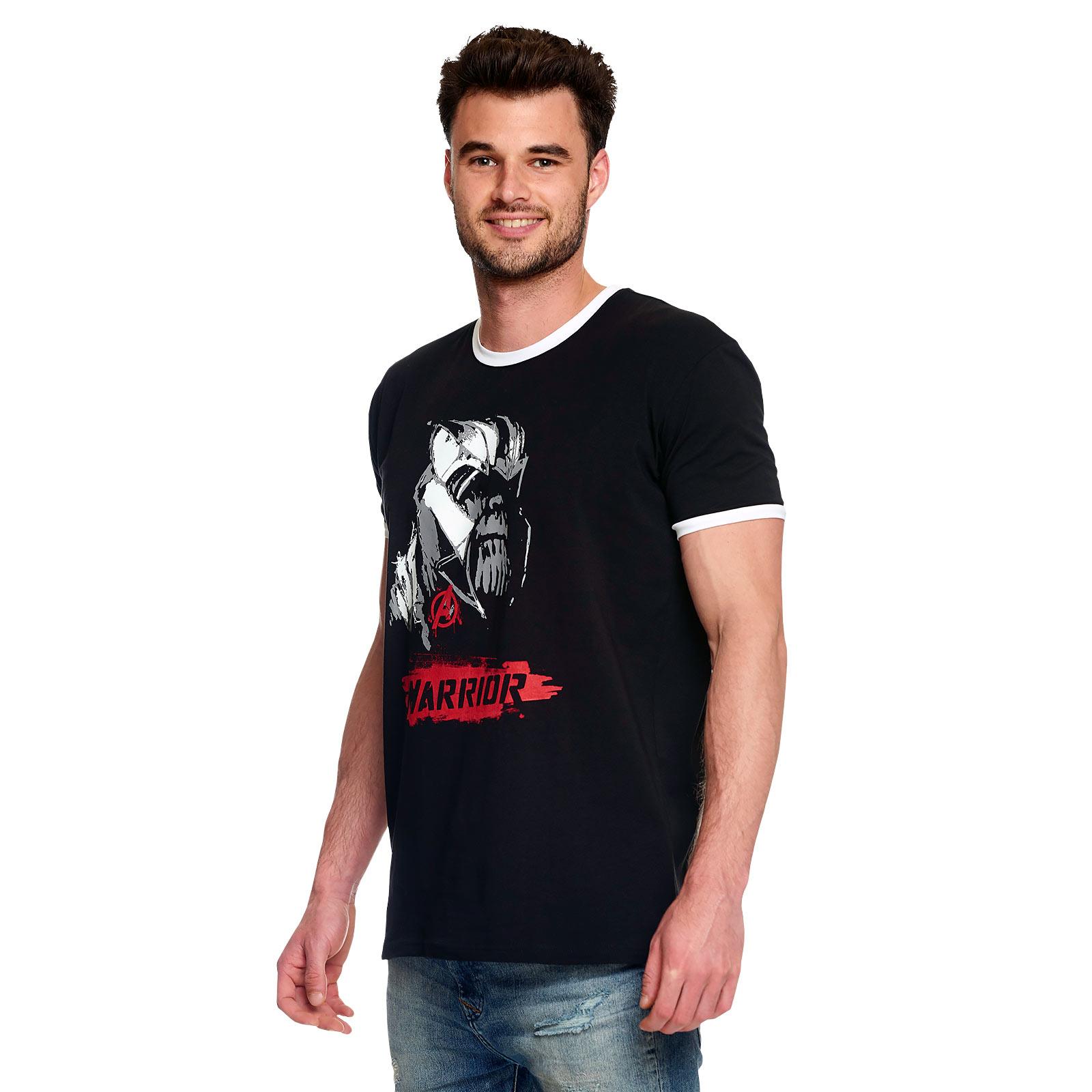 Avengers - Thanos Warrior T-Shirt schwarz
