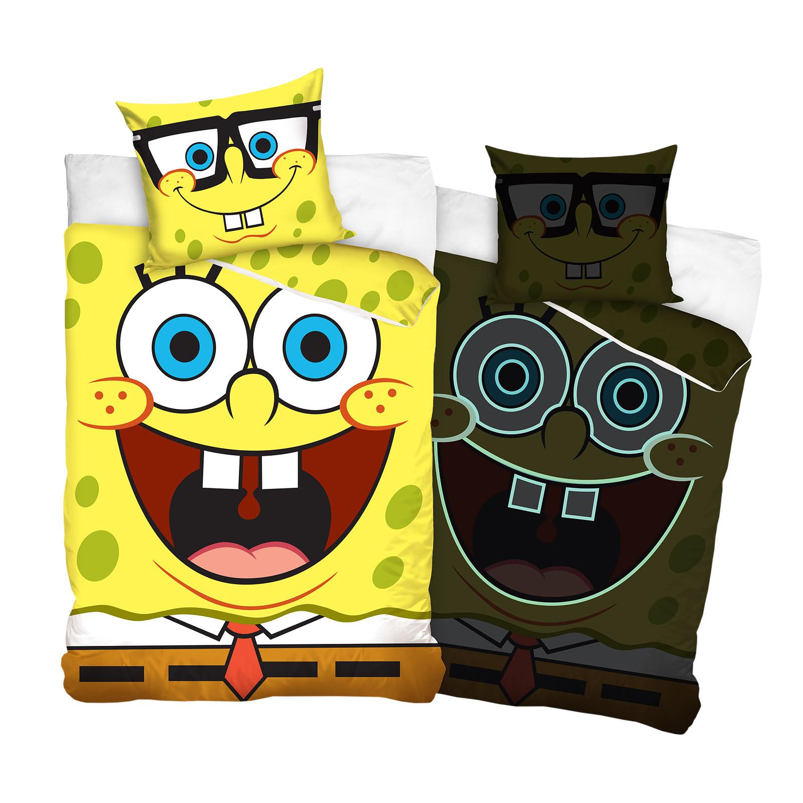 SpongeBob - Glow in the Dark Bettwäsche