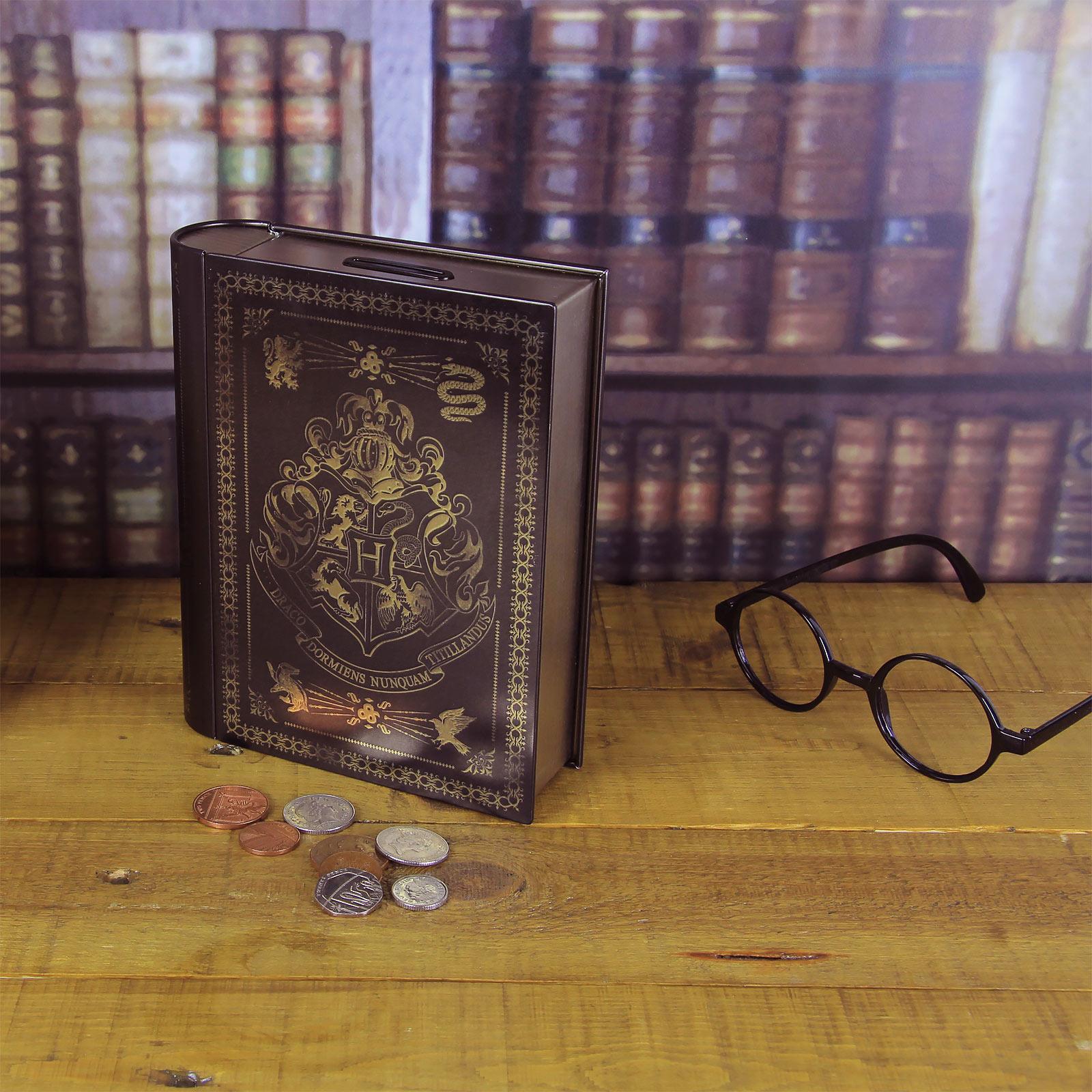 Harry Potter - Hogwarts Zauberbuch Spardose