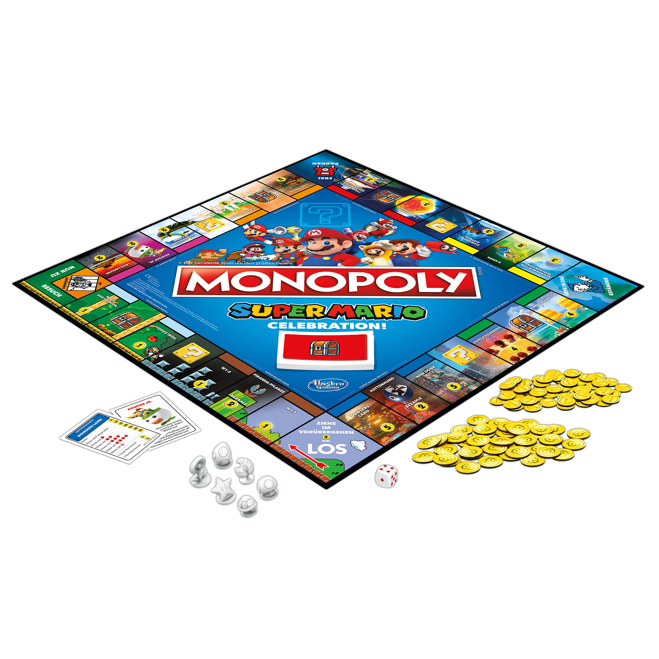 Super Mario - Celebration Monopoly mit Sound