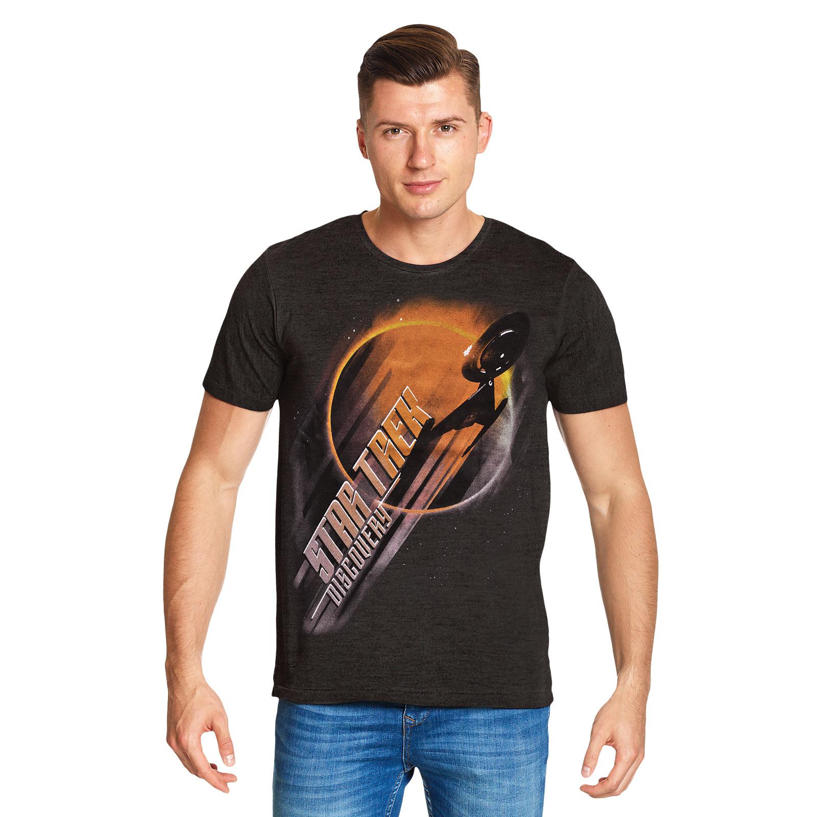 Star Trek - Discovery Eclipse T-Shirt grau