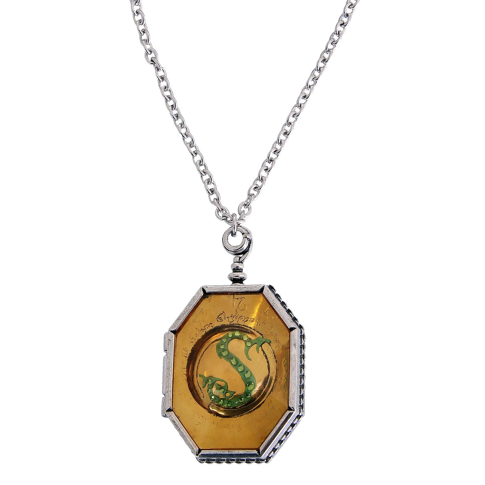 Harry Potter - Slytherin Medaillon Horkrux Kette