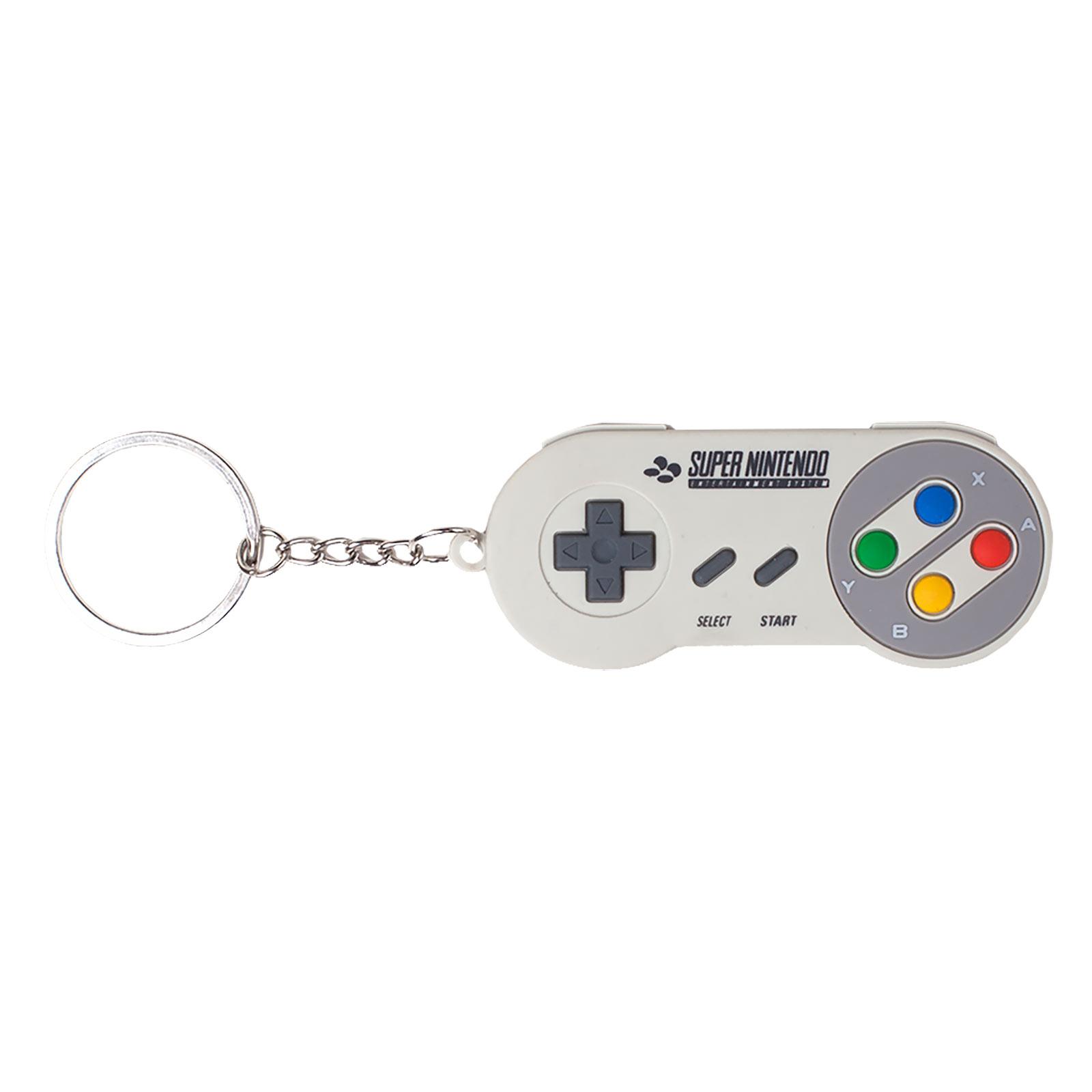 Nintendo - SNES Controller Schlüsselanhänger