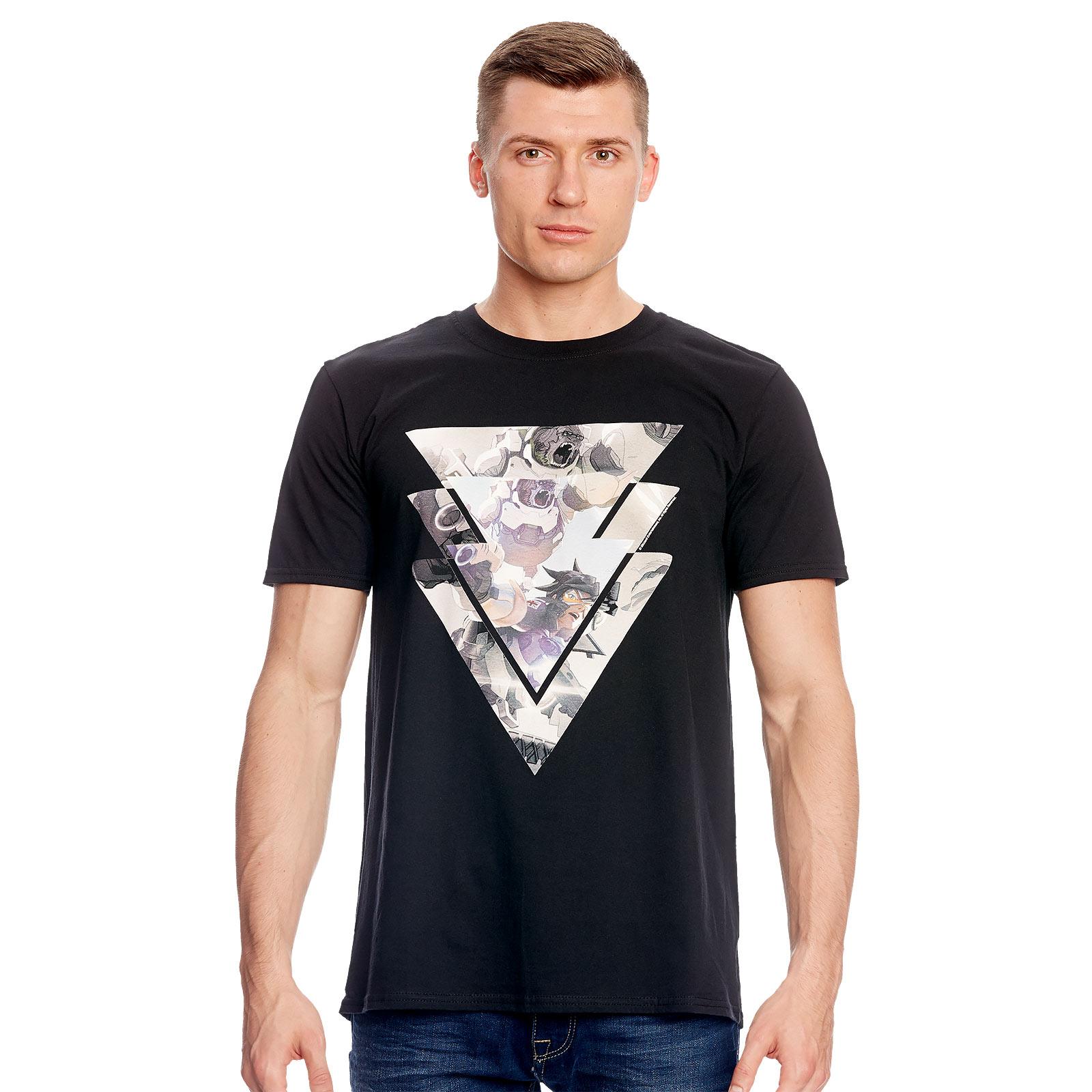 Overwatch - For the Good T-Shirt schwarz