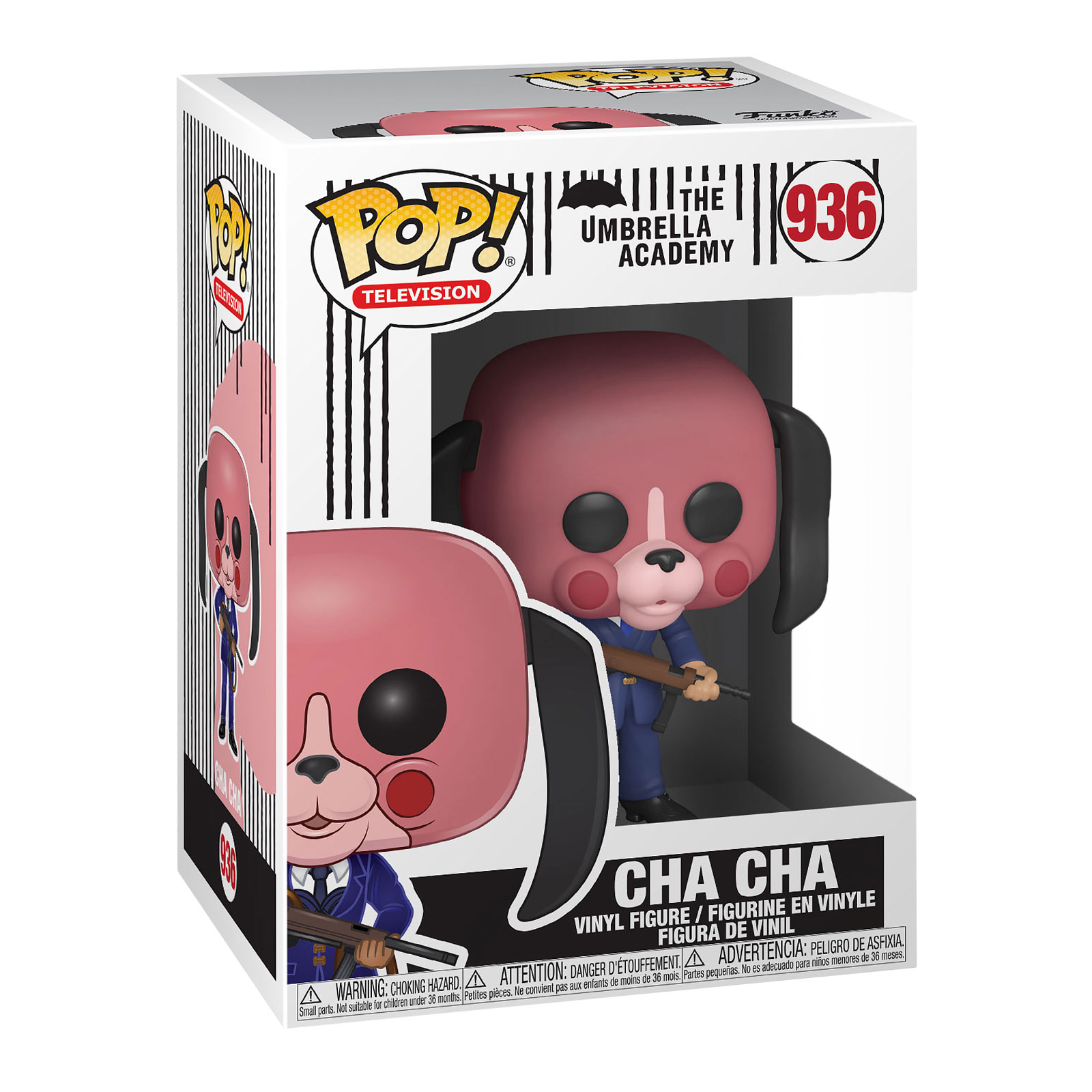 The Umbrella Academy - Cha Cha mit Maske Funko Pop Figur
