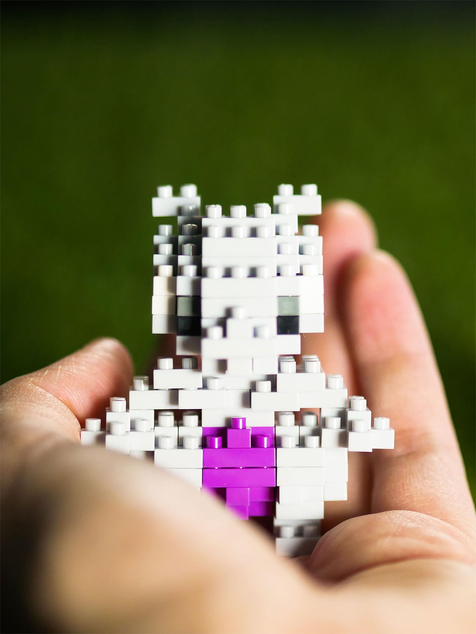 Pokemon - Mewtu nanoblock Mini Baustein Figur