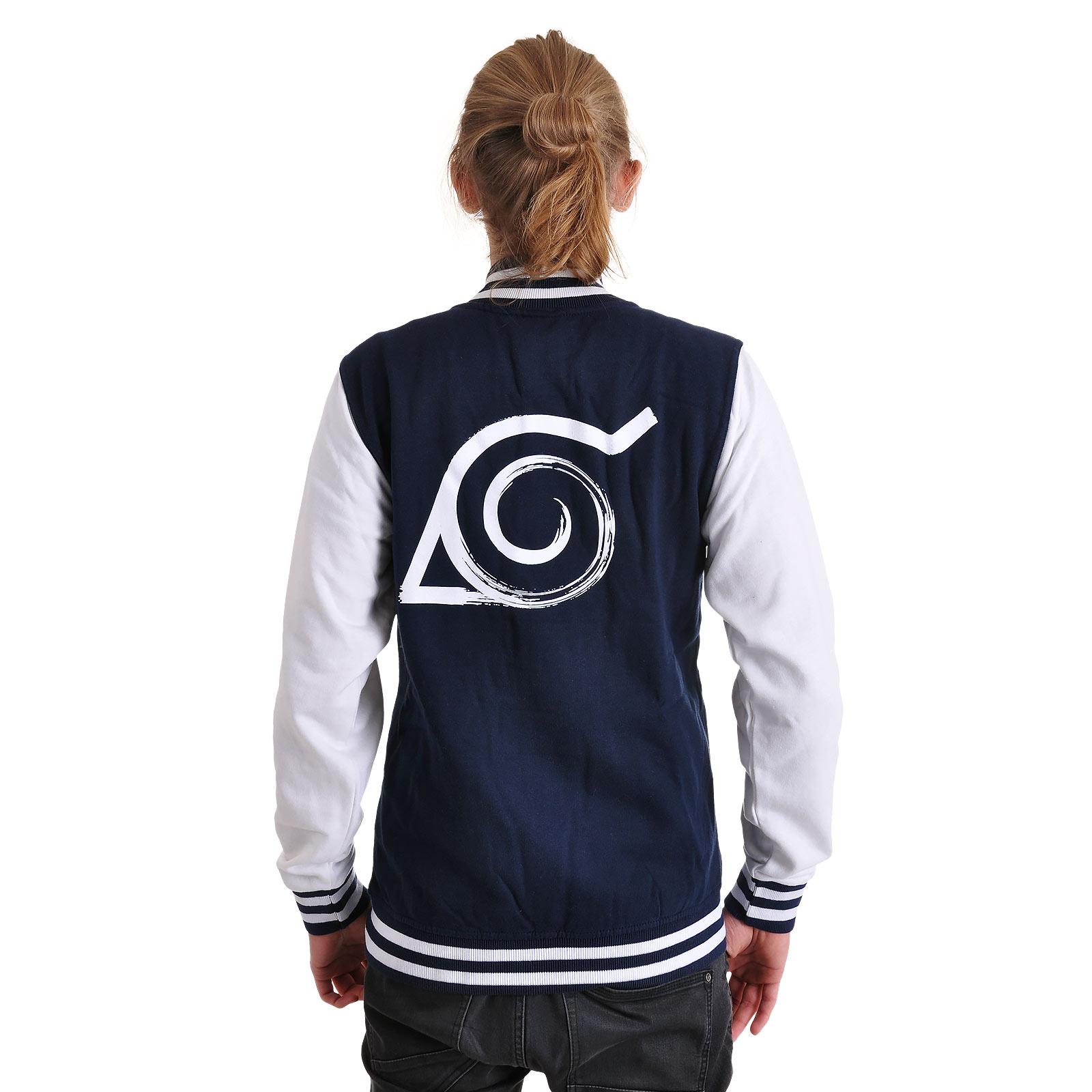 Naruto - Konoha Logo College Jacke