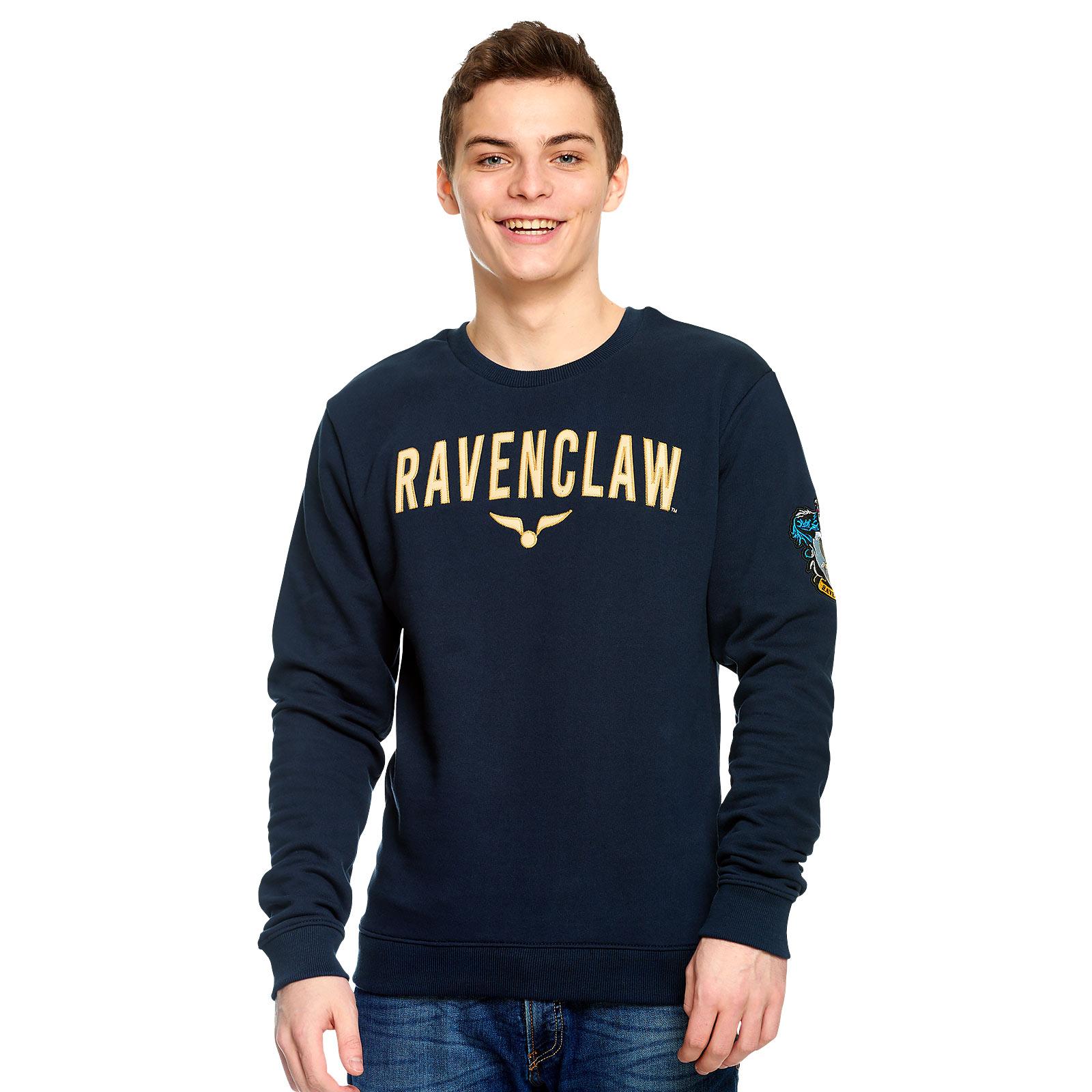 Harry Potter - Team Ravenclaw Sweater blau