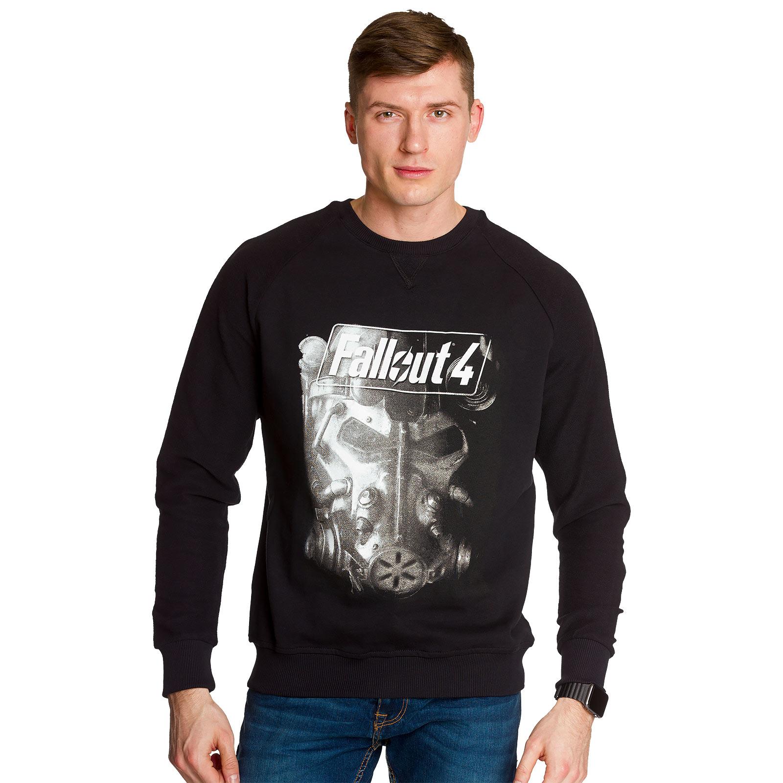Fallout 4 - Brotherhood of the Steel Sweater schwarz