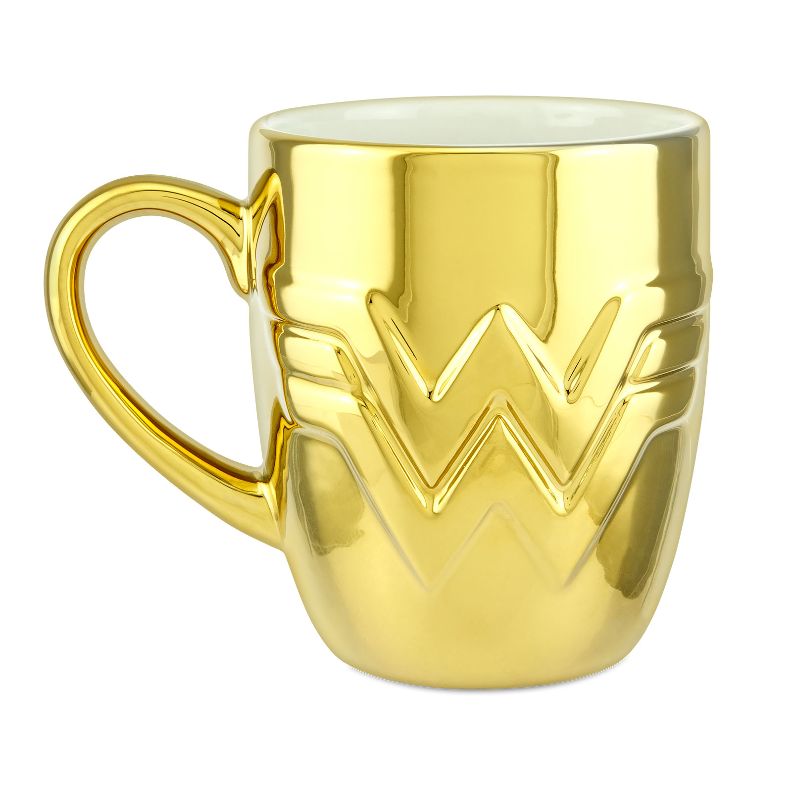 Wonder Woman - Logo Tasse vergoldet