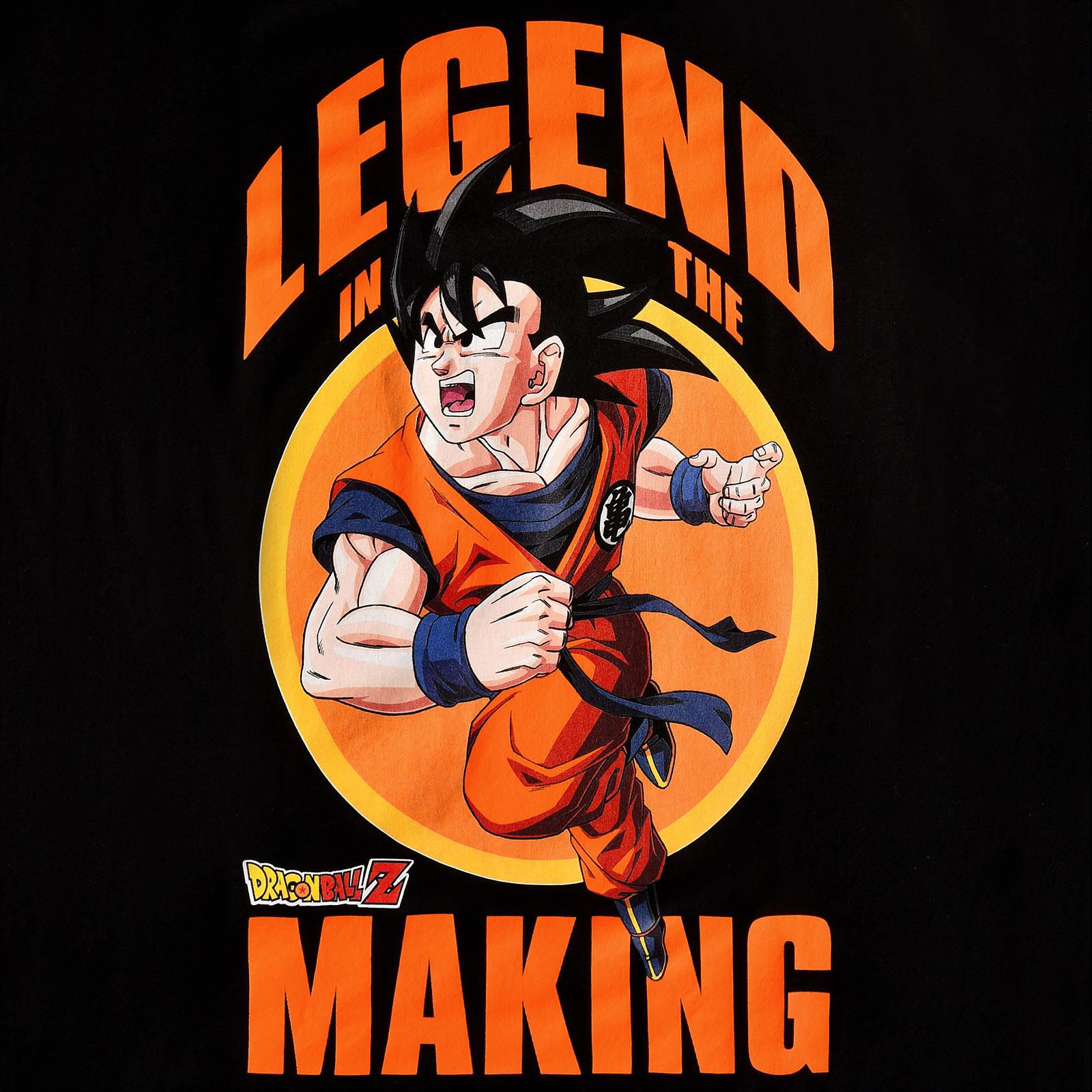 Dragon Ball Z - Legend in the Making T-Shirt schwarz