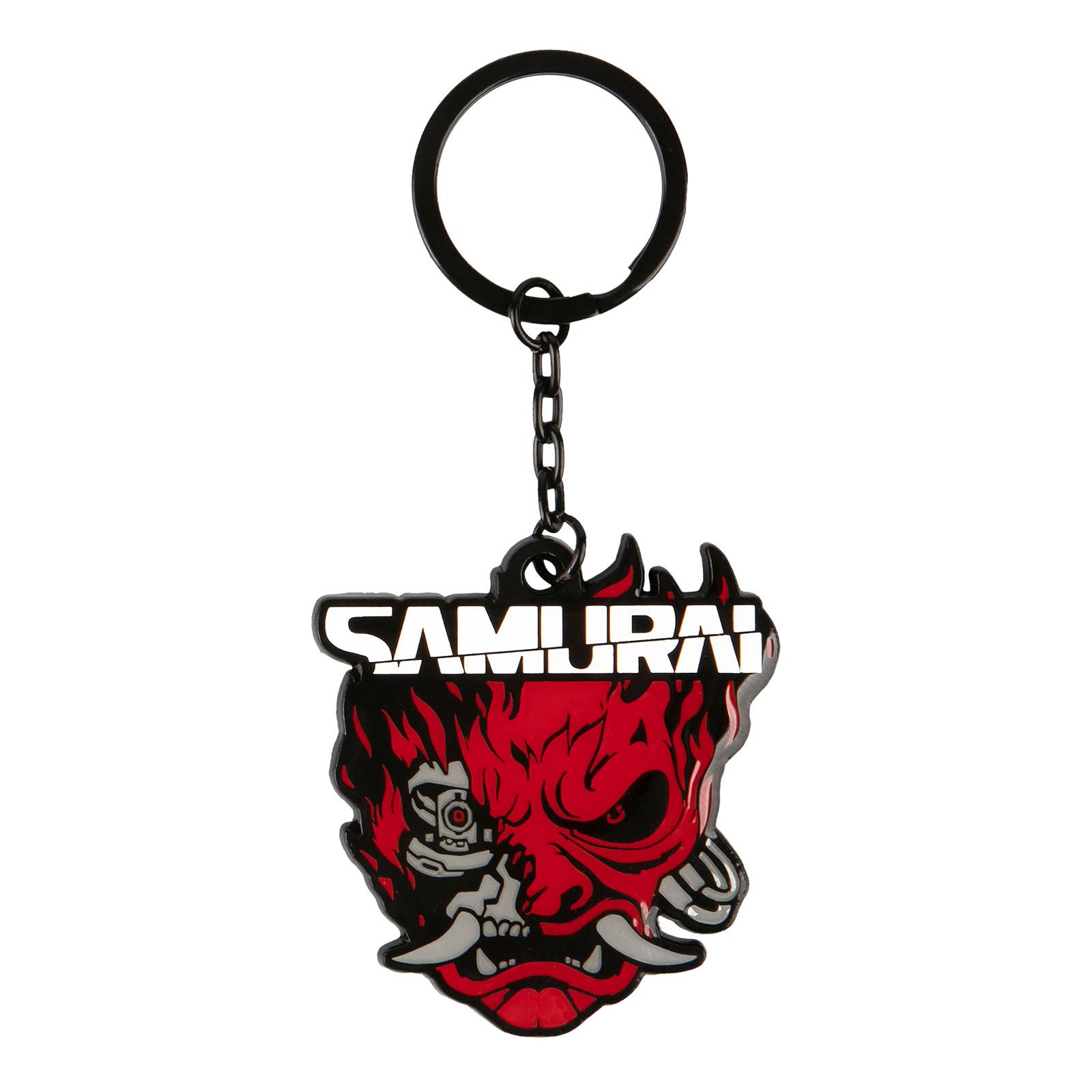 Cyberpunk 2077 - Samurai Logo Schlüsselanhänger