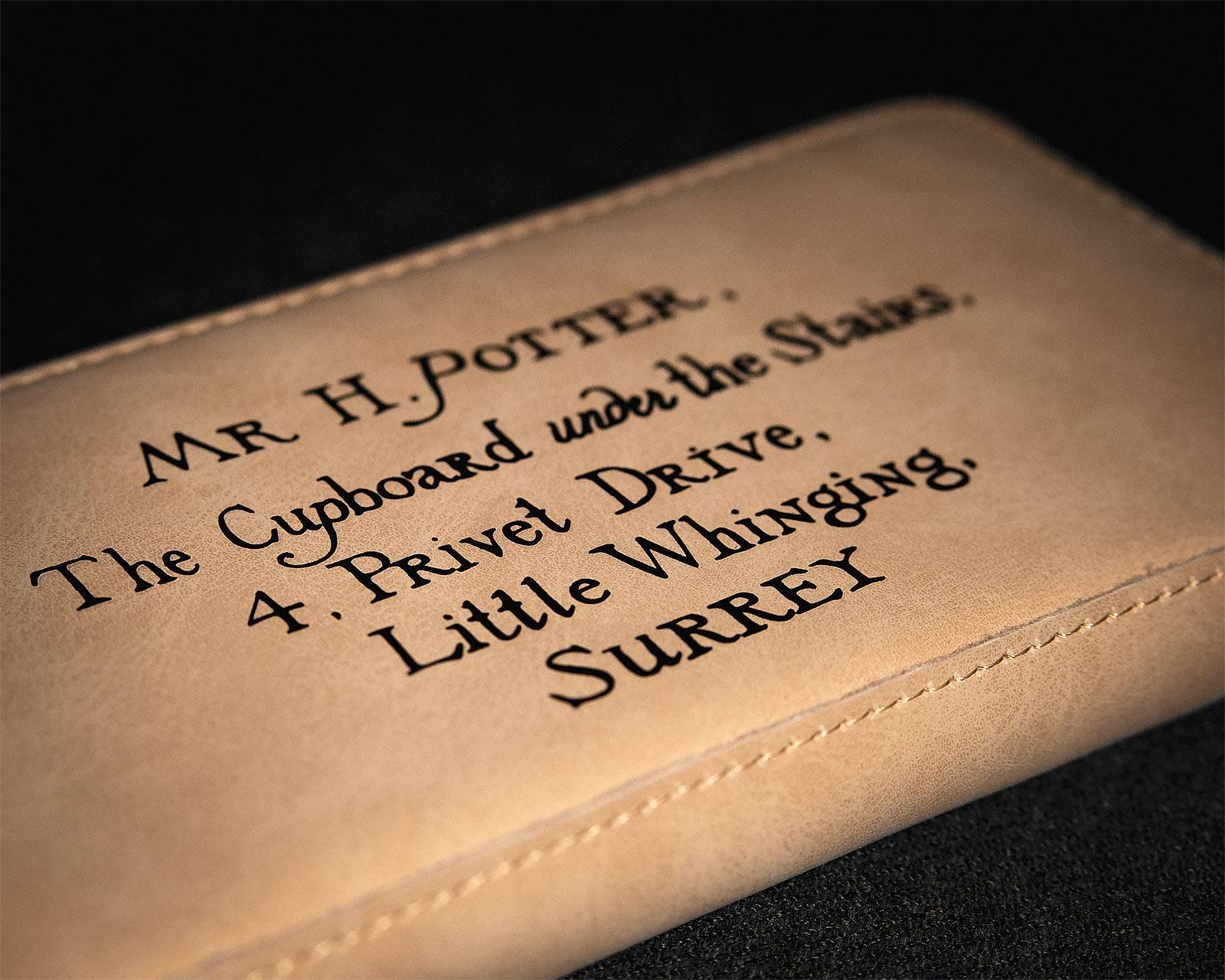 Hogwarts Brief Geldbörse Damen - Harry Potter