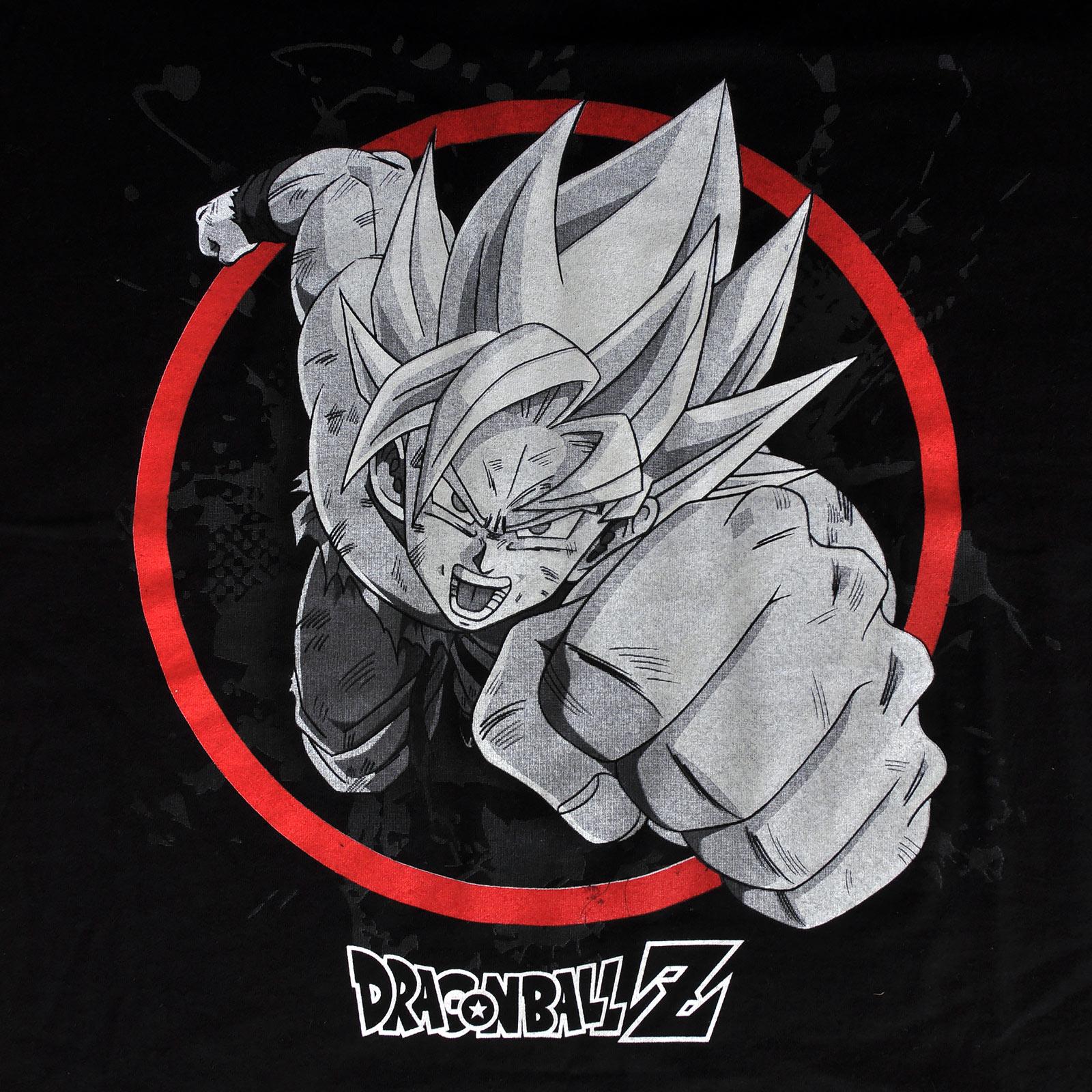 Dragon Ball Z - Super Sayajin Son Goku Attack T-Shirt